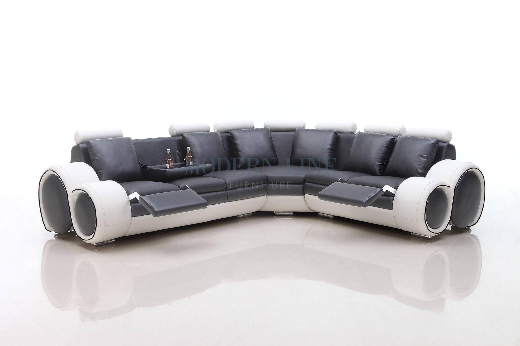 Modern Line Furniture – Commercial Furniture – Custom Made Intended For Sofas With Console (Image 8 of 20)