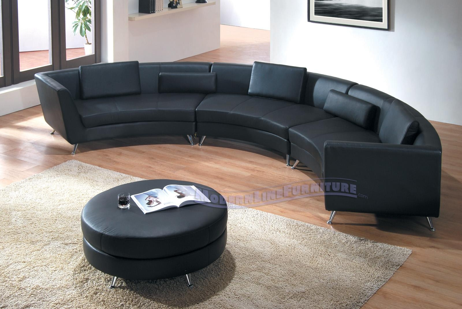 Modern Line Furniture – Commercial Furniture – Custom Made Regarding Leather Curved Sectional (Image 15 of 20)