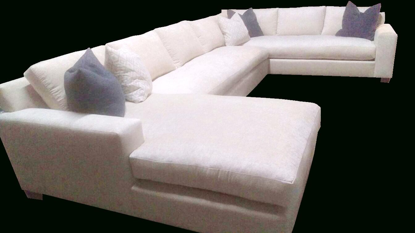 Modern Orange Custom Made Sectional | We Make Custom Size Sofas! Regarding Custom Made Sectional Sofas (Image 10 of 15)