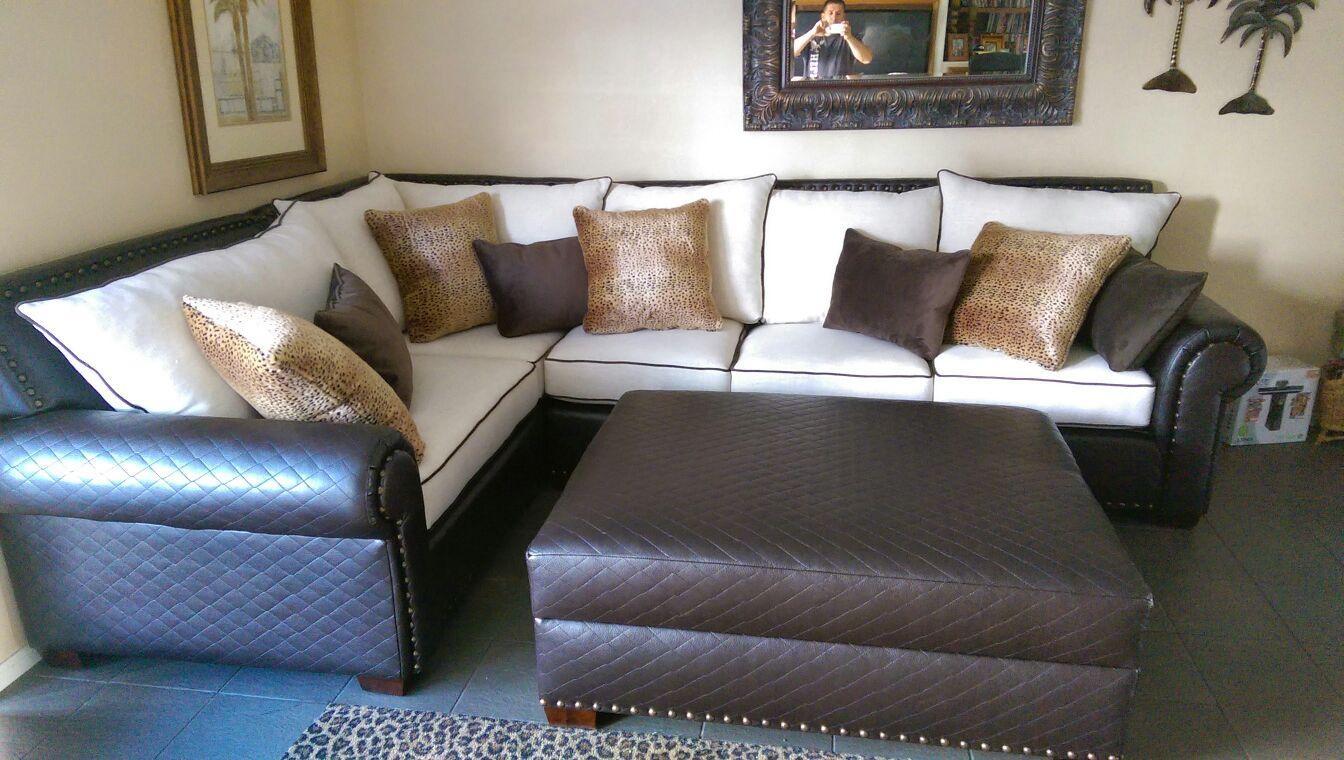 Modern Orange Custom Made Sectional | We Make Custom Size Sofas! Throughout Custom Made Sectional Sofas (Image 11 of 15)