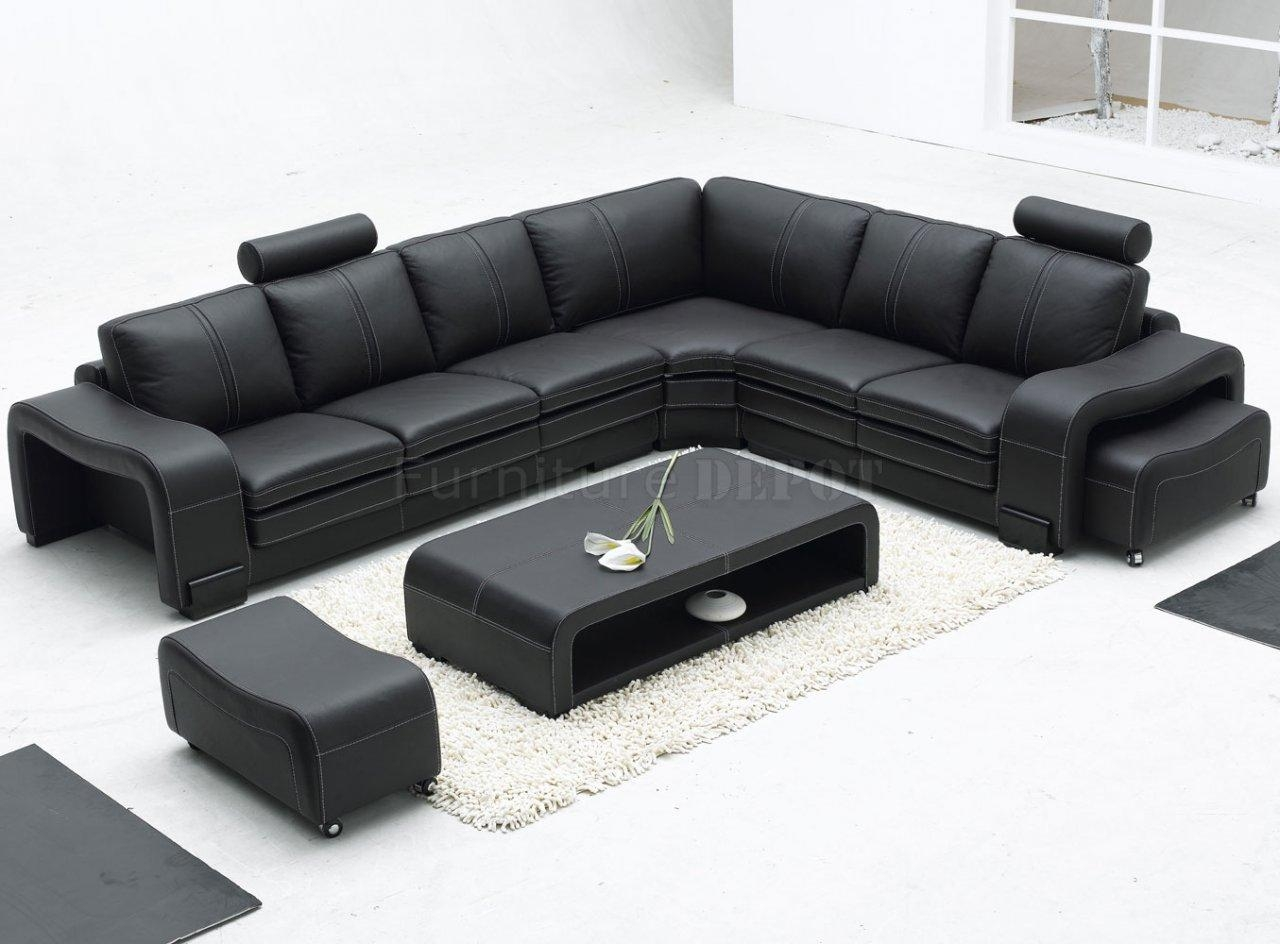 Modern Sectional Sofa Pertaining To Long Modern Sofas (Image 15 of 20)