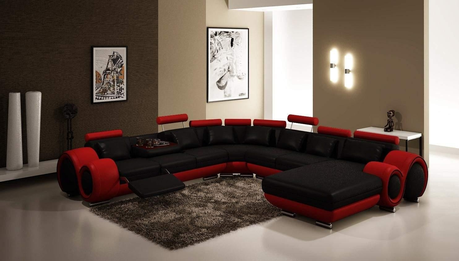 Modern Sectional Sofas With Regard To Black Modern Sectional Sofas (Image 18 of 20)