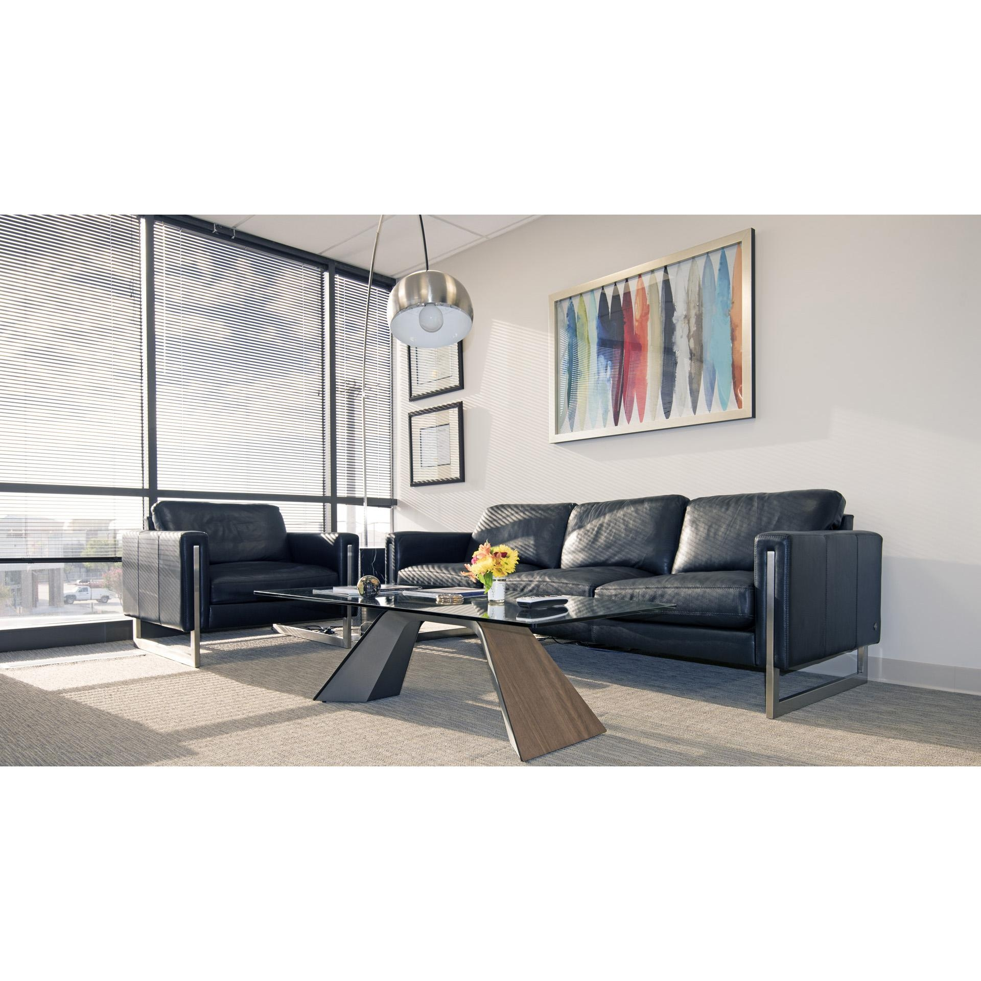 Modern Sofas Savinoamerican Leather Black | Cantoni In Cantoni Sofas (Image 18 of 20)