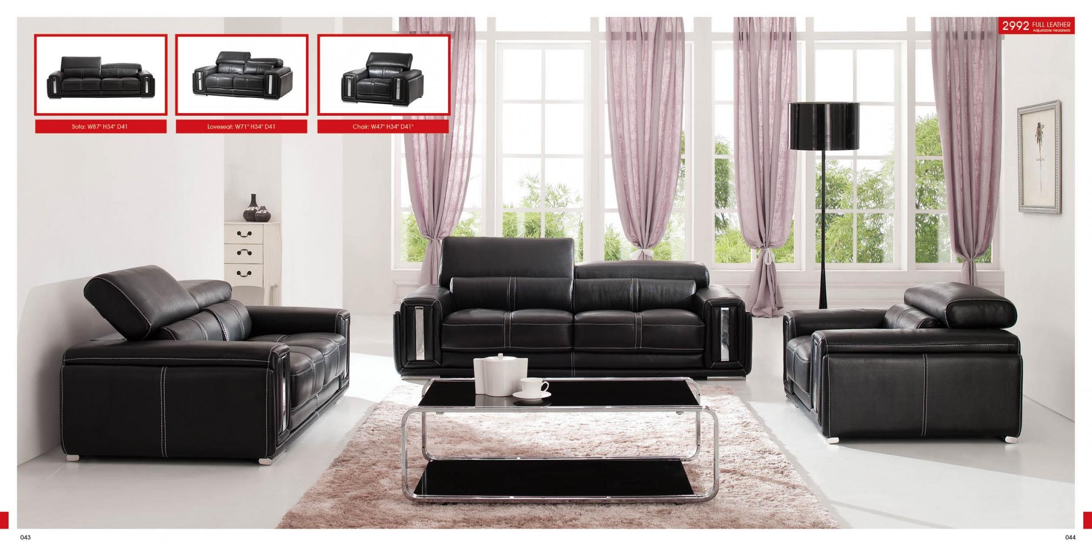 Modern Style Living Room Furniture Intended For Living Room Sofa And Chair Sets (Image 15 of 20)