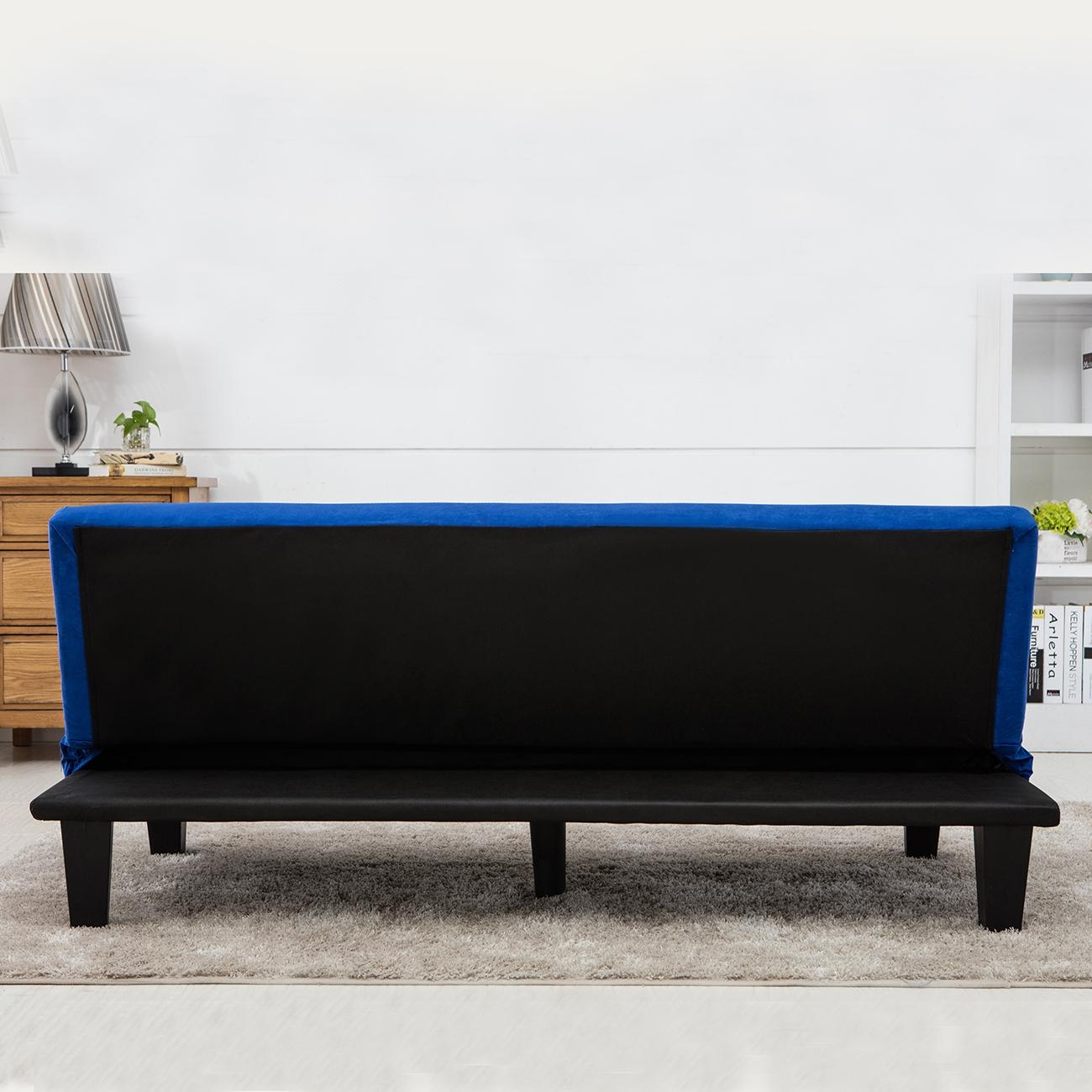 Modern Style Sofa Bed Futon Couch Sleeper Lounge Sleep Dorm Office For Futon Couch Beds (View 3 of 20)