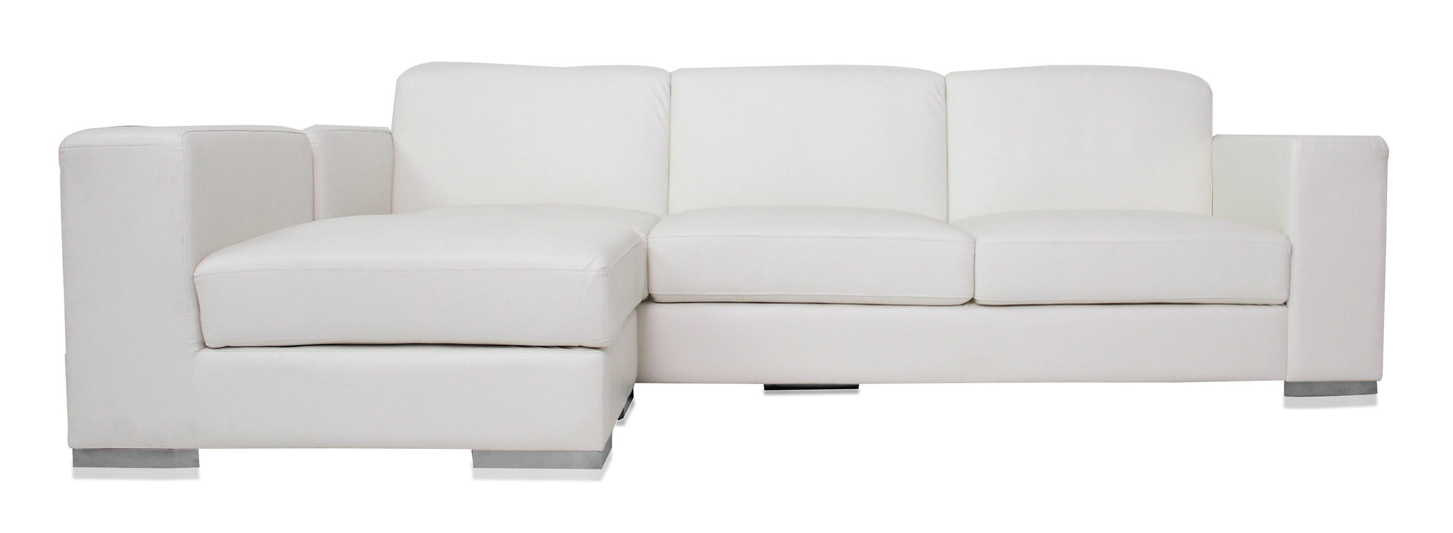 Modern White Sofa Regarding White Sofa Chairs (Image 9 of 20)