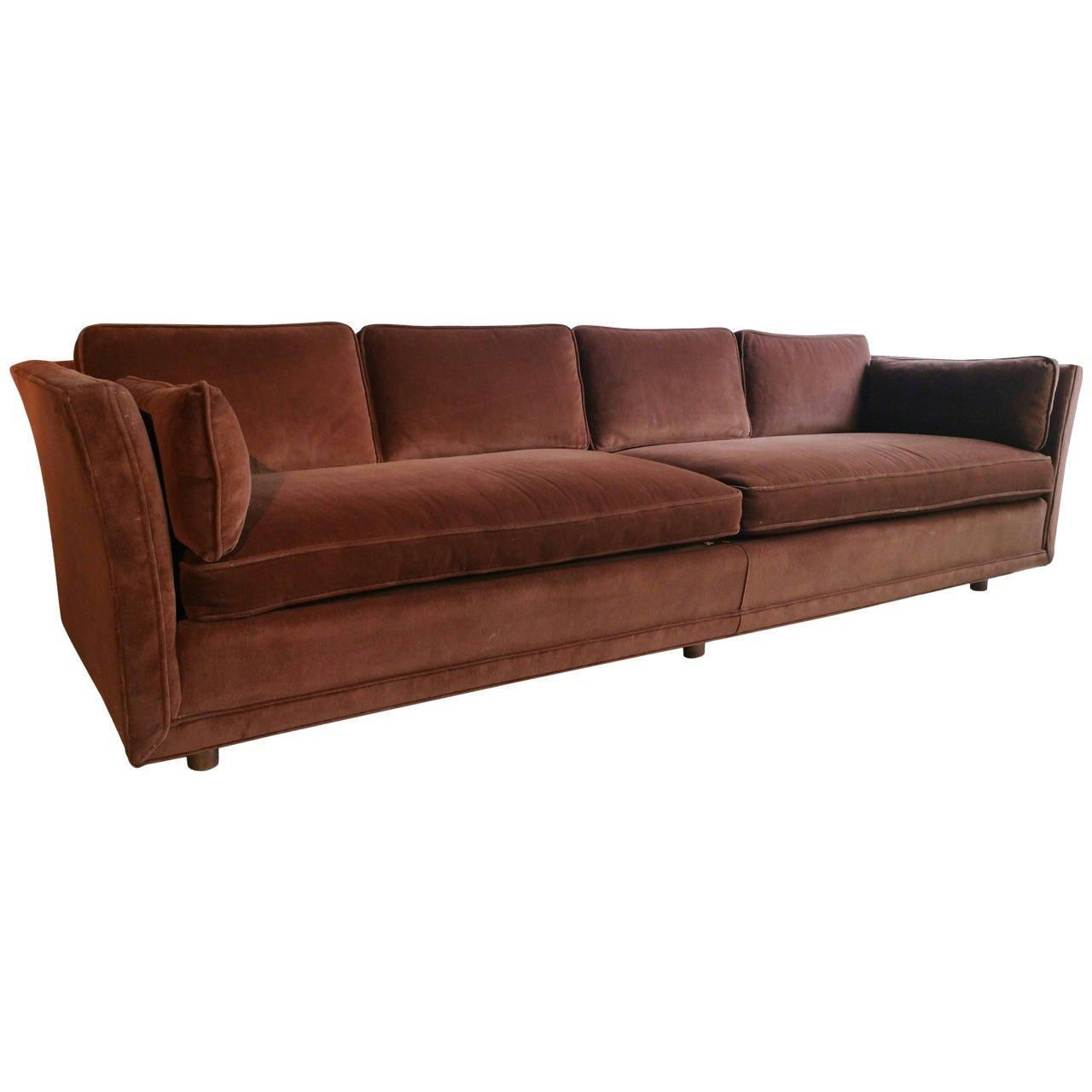 Modernist Four Seater Sofa, Designedharvey Probber At 1Stdibs Pertaining To Four Seater Sofas (Image 16 of 20)