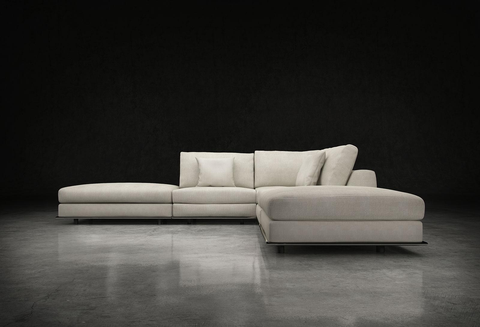 Modloft Perry Armless Corner Sofa Md820 Set04 Official Store Throughout Armless Sectional Sofas (View 6 of 15)
