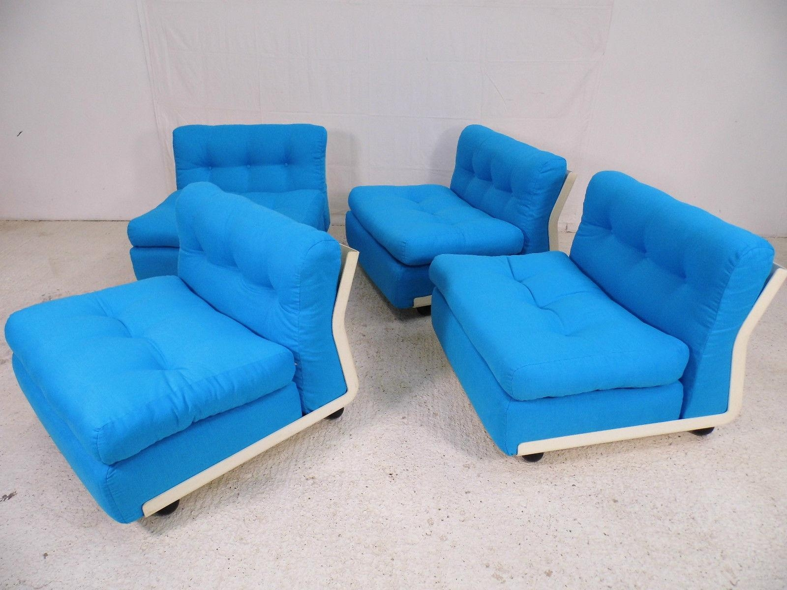 Modular Amanta 4 Seater Sofamario Bellini For C&b Italia, 1973 Inside Bellini Couches (Image 14 of 20)