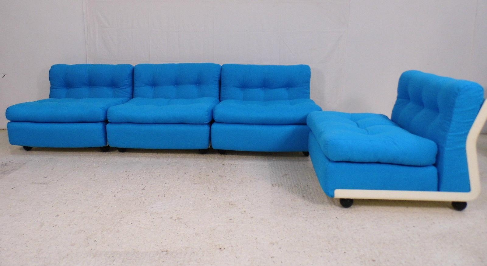 Modular Amanta 4 Seater Sofamario Bellini For C&b Italia, 1973 Throughout Bellini Sofas (View 13 of 20)