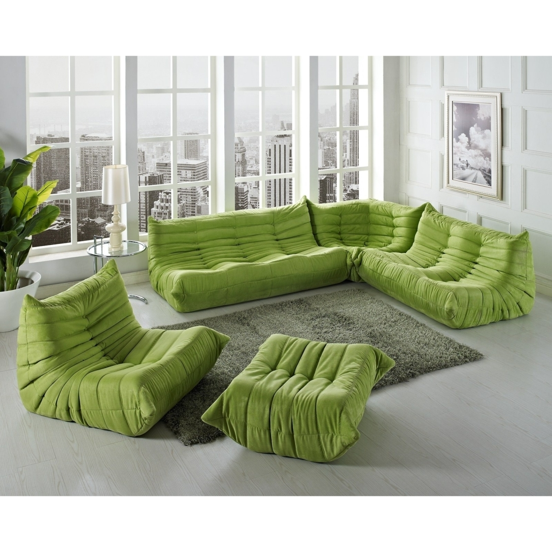 Modular Leather Sectional Sofa – Leather Sectional Sofa Intended For Leather Modular Sectional Sofas (Image 13 of 20)