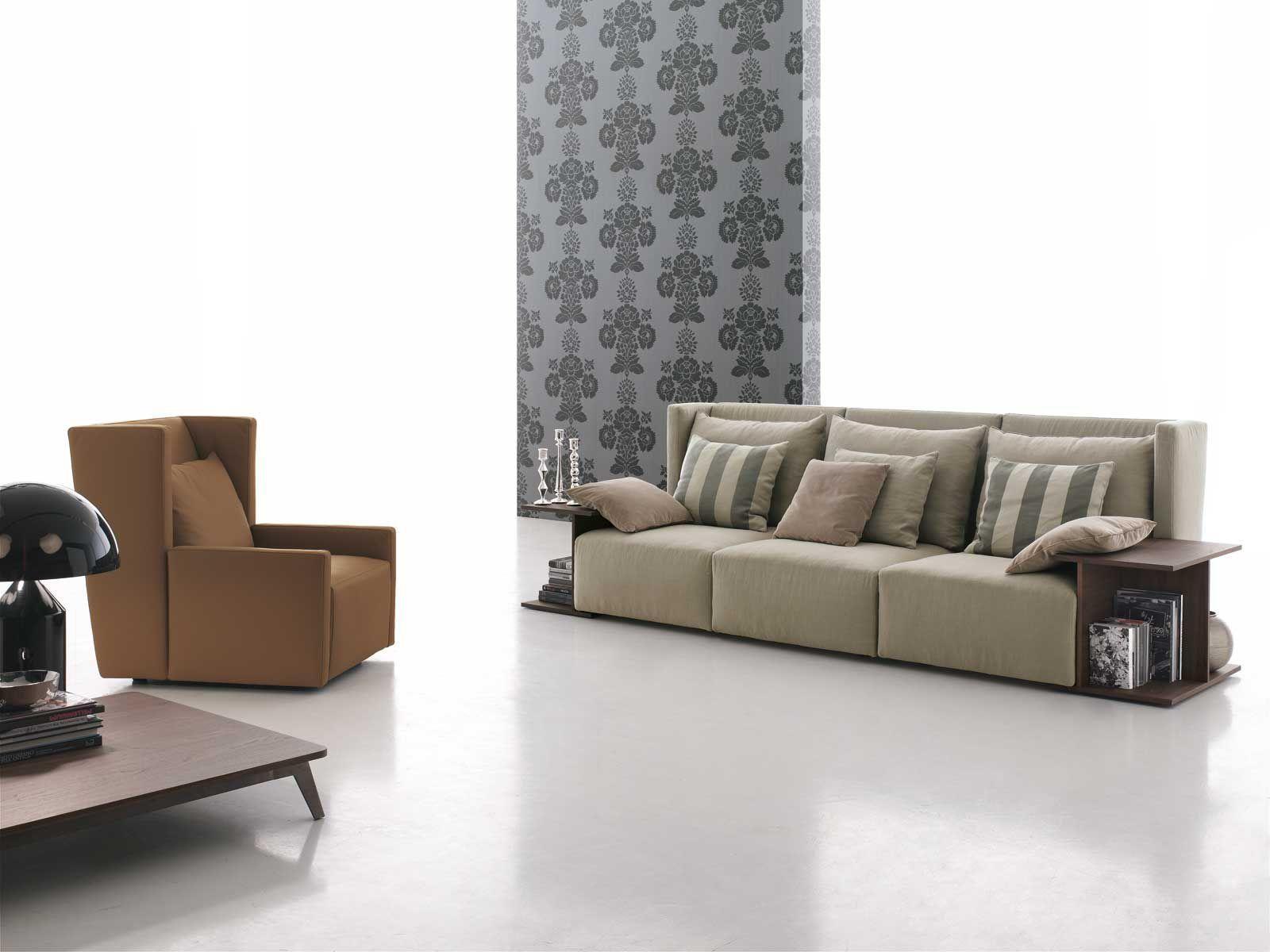 Modular Sofa / Contemporary / Fabric / 3 Seater – Club – Gruppo With Regard To Contemporary Fabric Sofas (Image 15 of 20)