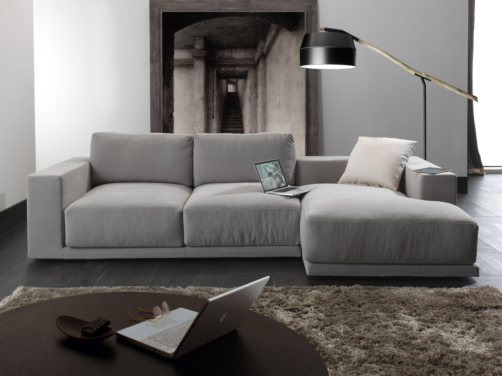 Modular Sofa / Contemporary / Fabric / 3 Seater – Relax Square Intended For Contemporary Fabric Sofas (View 5 of 20)