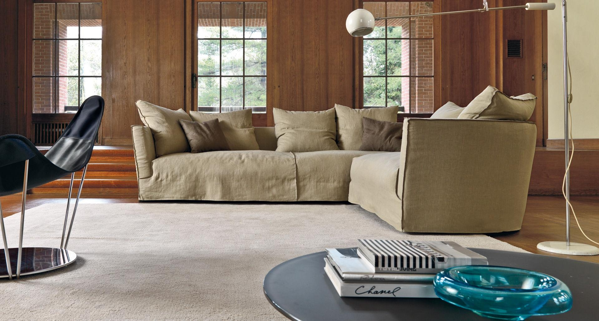 Modular Sofa / Contemporary / Fabric / 4 Seater – Lov Trend Pertaining To Sofa Trend (View 5 of 20)