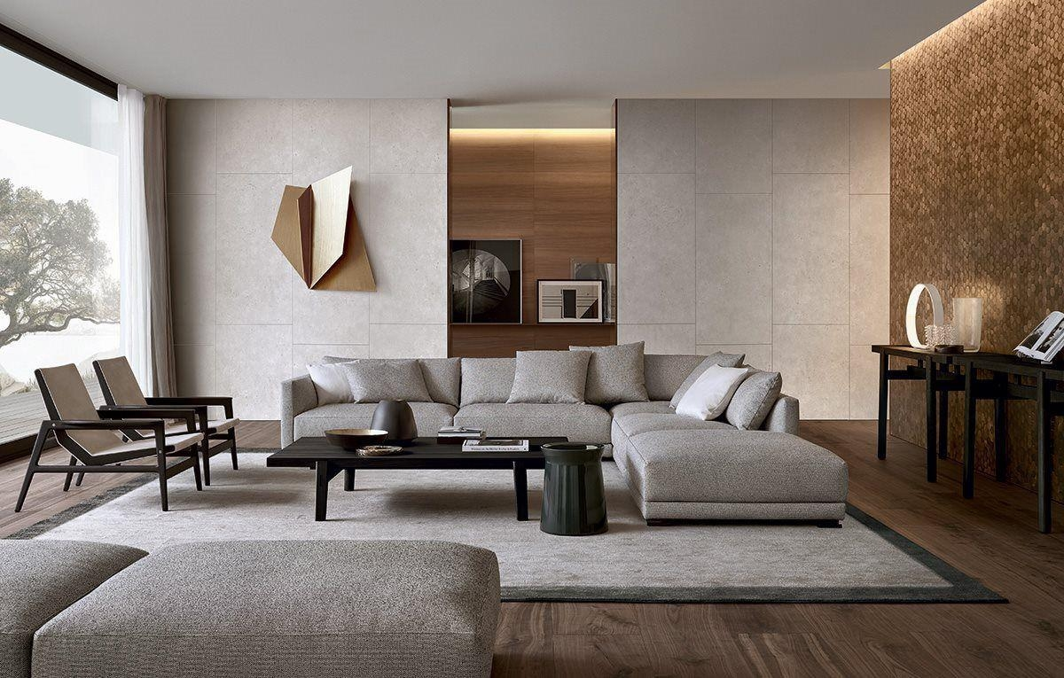 Modular Sofa / Contemporary / Fabric / Leather – Bristol – Poliform Throughout Bristol Sofas (Image 11 of 20)