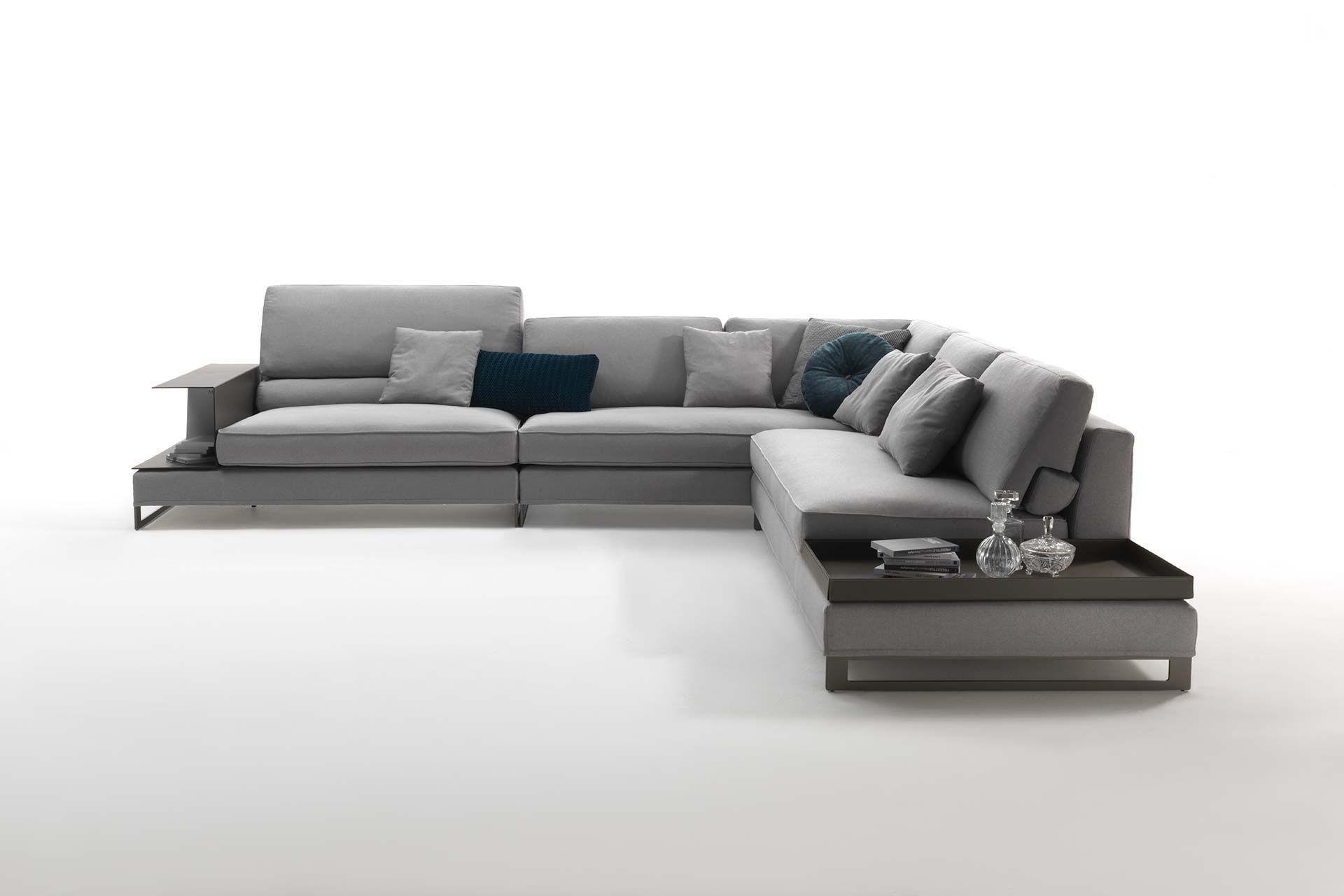 Modular Sofa / Contemporary / Fabric / Leather – Davis Case Pertaining To Davis Sofas (Image 15 of 20)