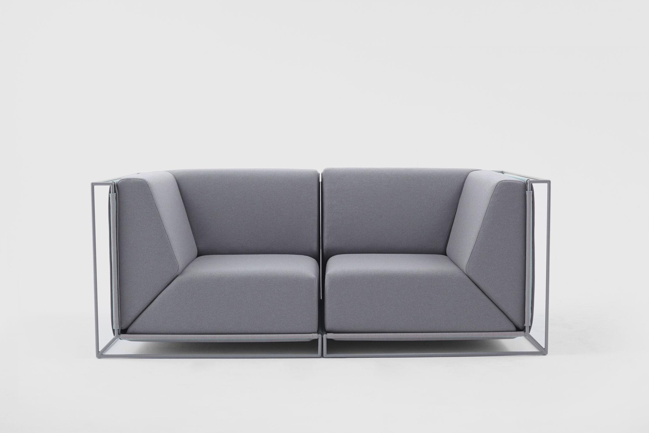 Modular Sofa / Contemporary / Fabric /philippe Nigro Intended For Floating Sofas (Image 16 of 20)