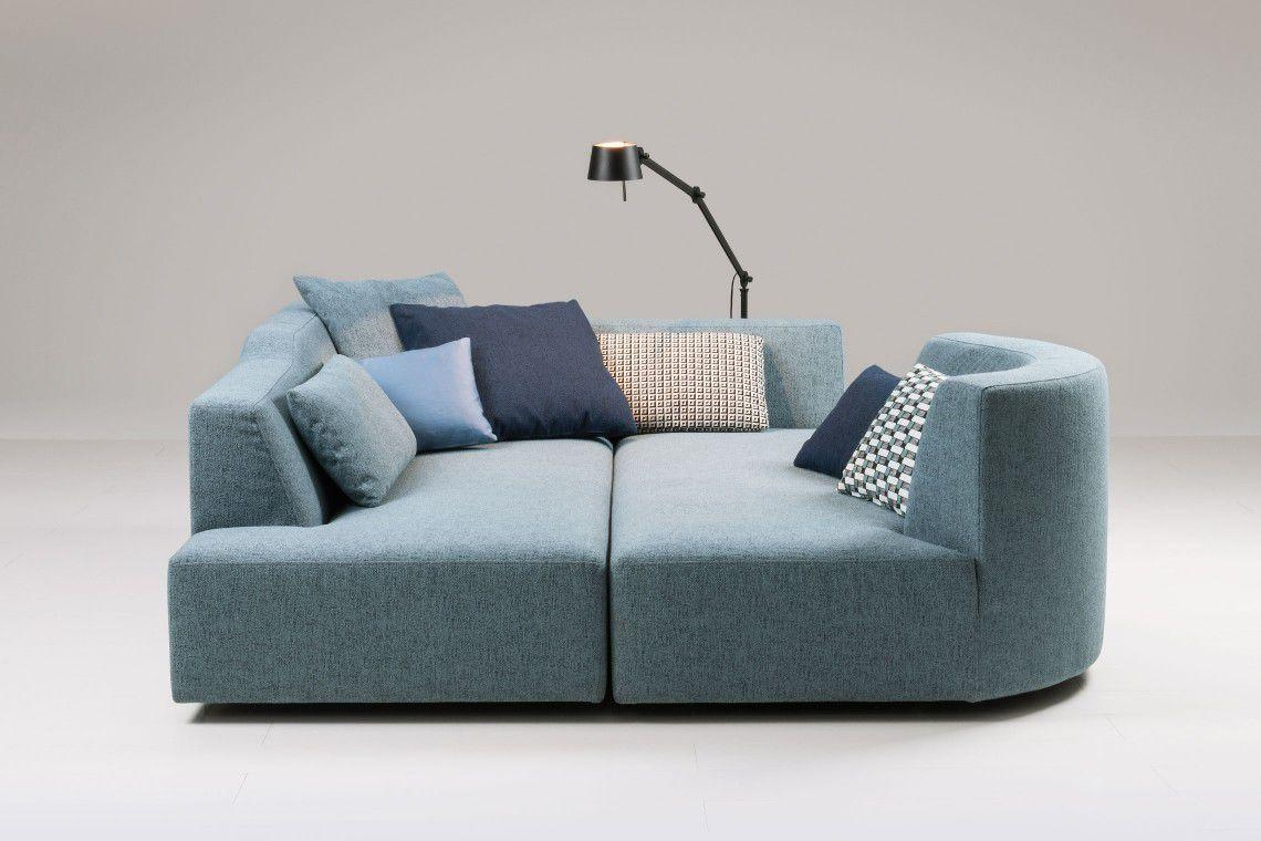Modular Sofa / Contemporary / Fabric / With Removable Cover In Sofas With Removable Covers (View 15 of 20)