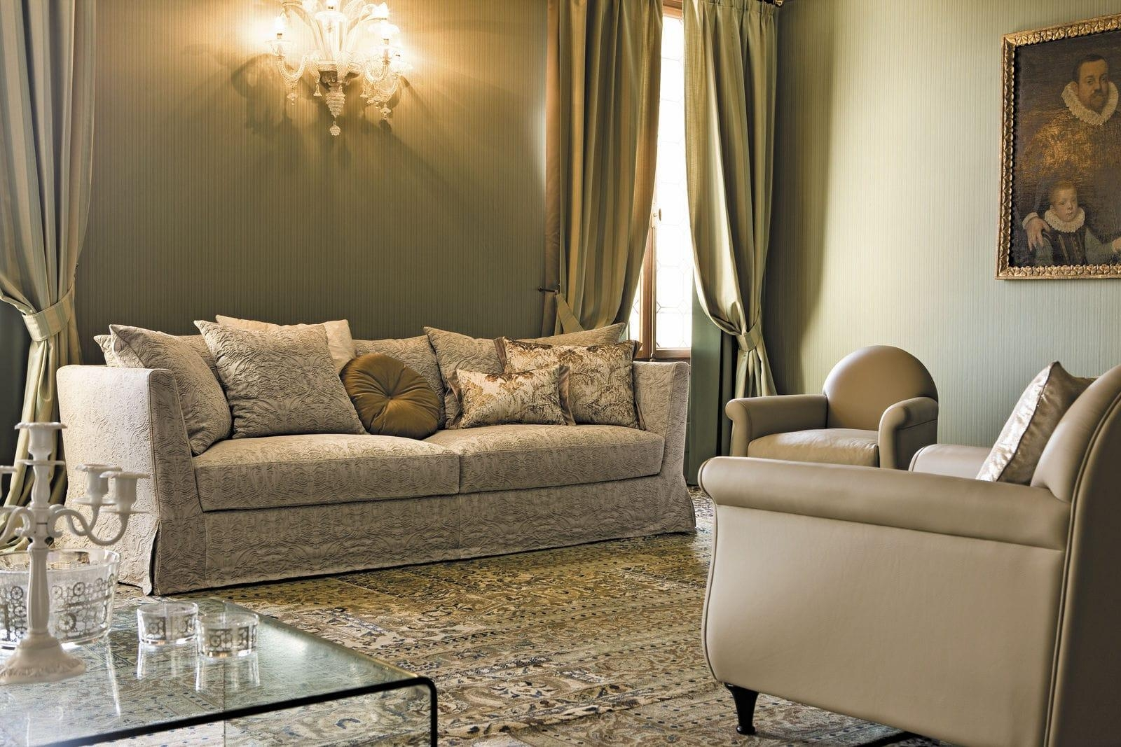 Modular Sofa / Traditional / Fabric / 3 Seater – Boheme – Alberta Pertaining To Traditional Fabric Sofas (View 16 of 20)