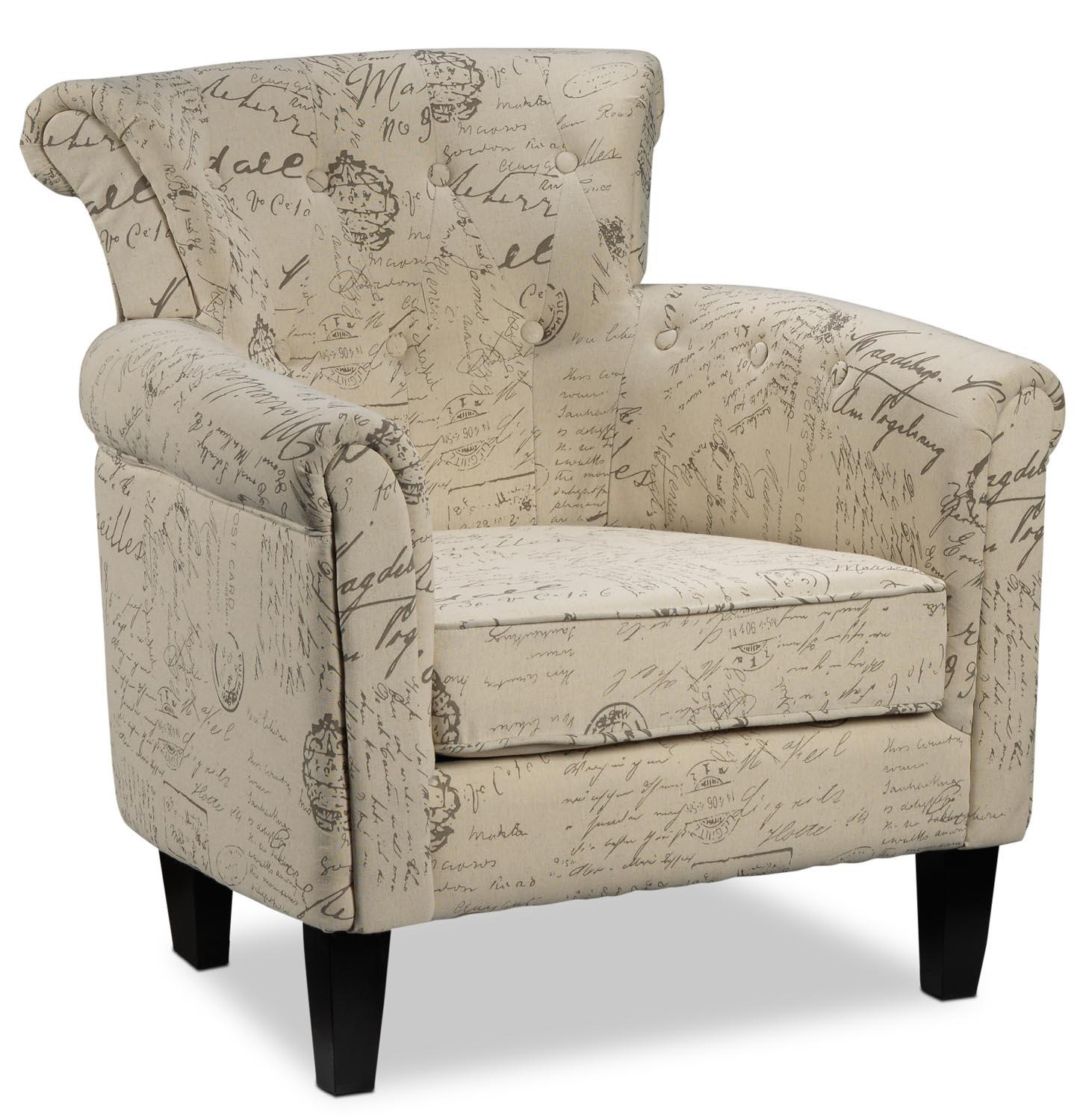 Moniker Accent Chair | Leon's With Regard To Accent Sofa Chairs (Image 17 of 20)