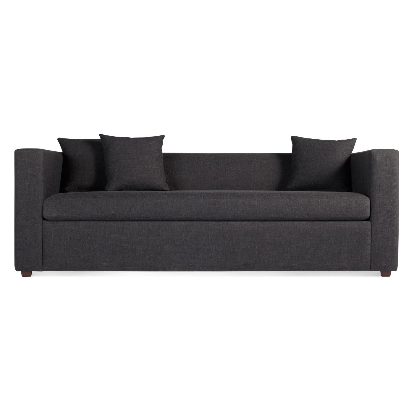 Mono Modern Sleeper Sofa – Single Cushion Sofa | Blu Dot Regarding One Cushion Sofas (Image 6 of 20)