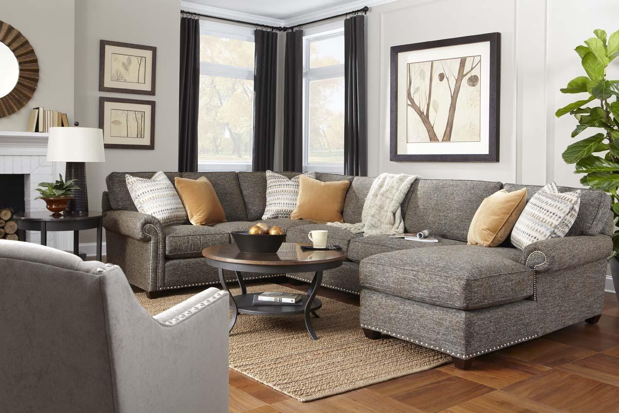 Morgan Sectionalrowe Furniture Pertaining To Rowe Sectional Sofas (View 6 of 20)