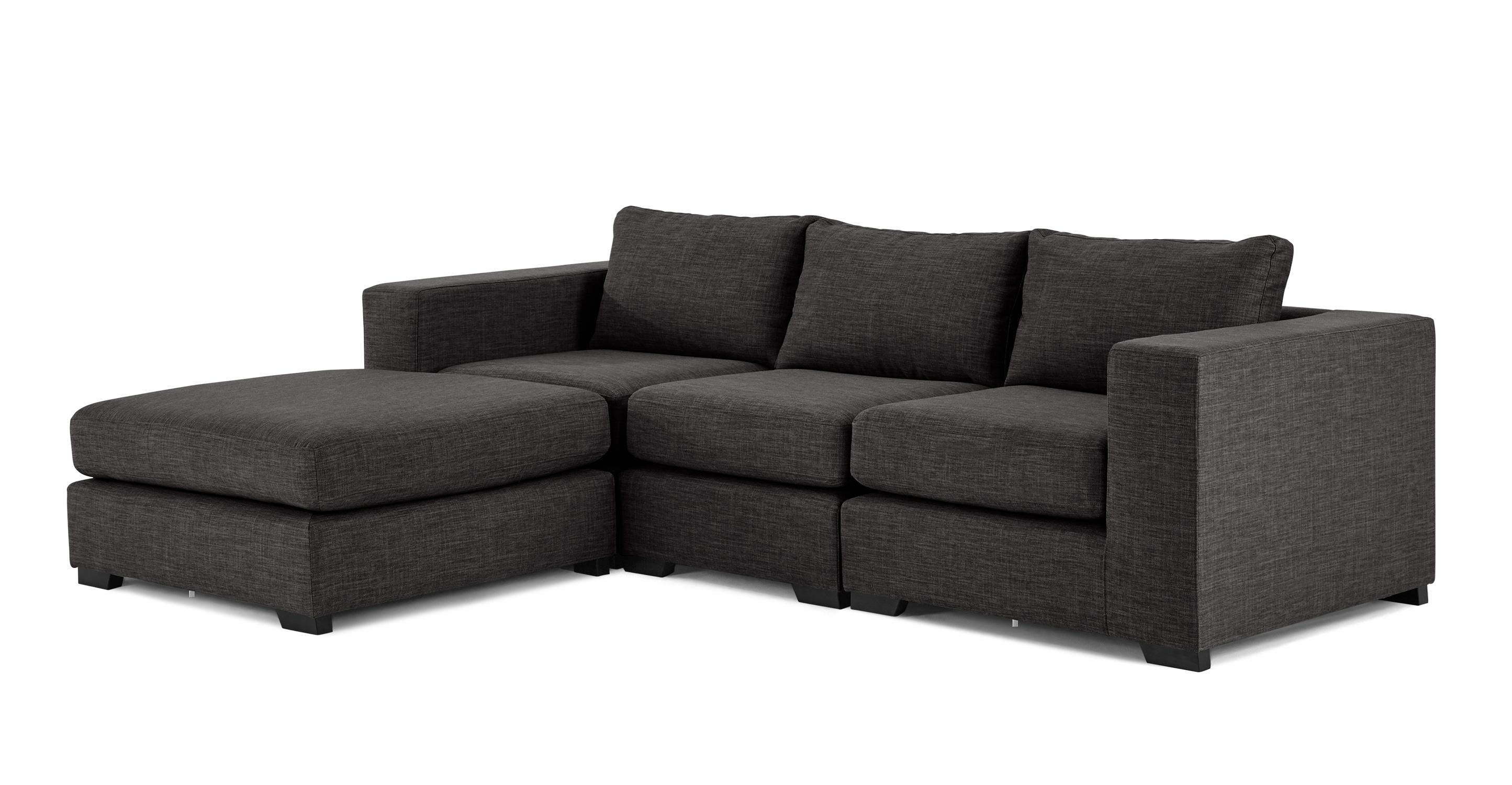 Mortimer 4 Seat Modular Corner Sofa, Seal Grey | Made In Modular Corner Sofas (View 15 of 20)