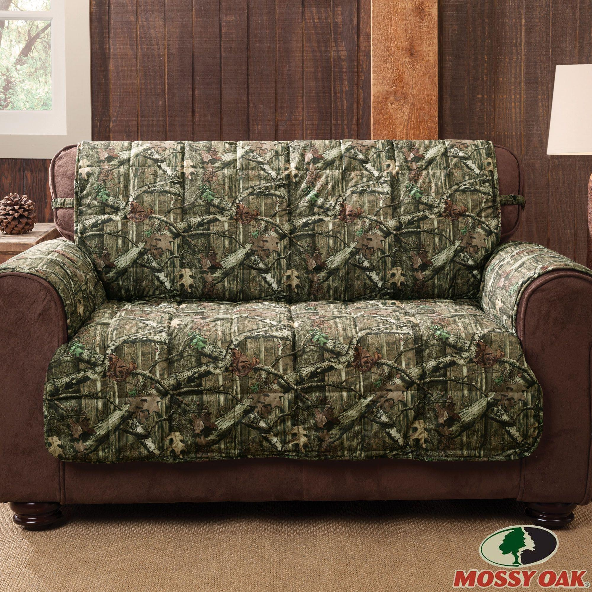 Mossy Oak Break Up Infinity Camo Furniture Protectors Throughout Camo Reclining Sofas (View 11 of 20)