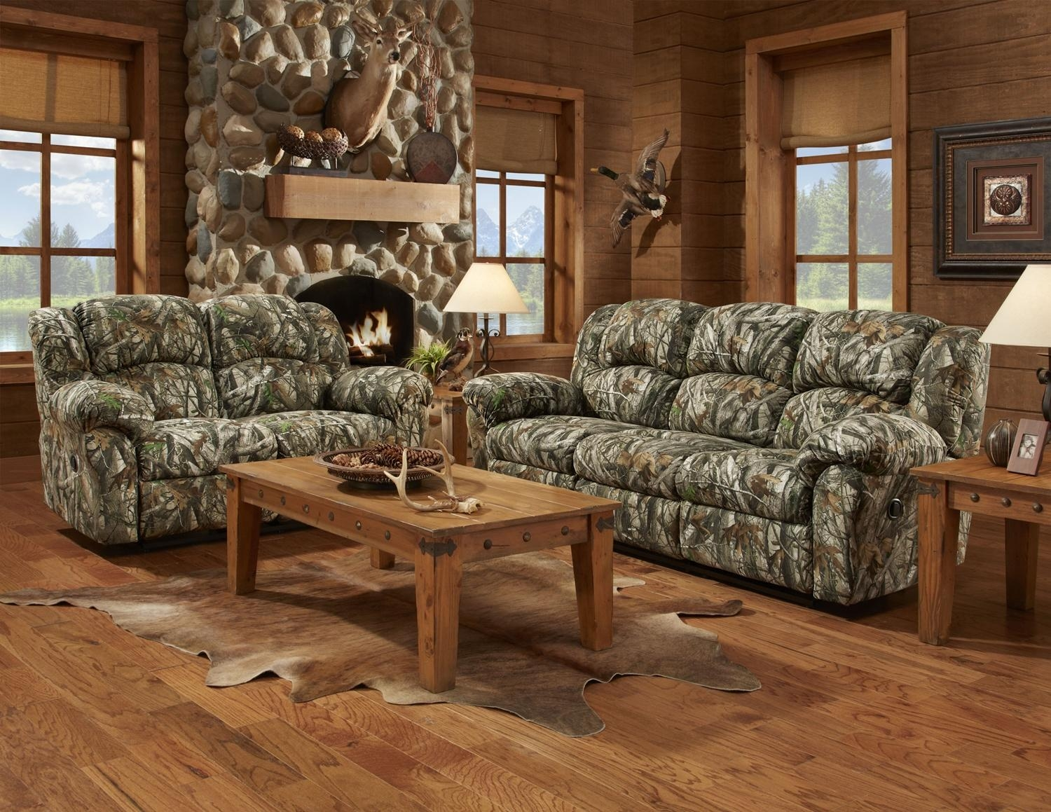 Featured Photo of Camo Reclining Sofas