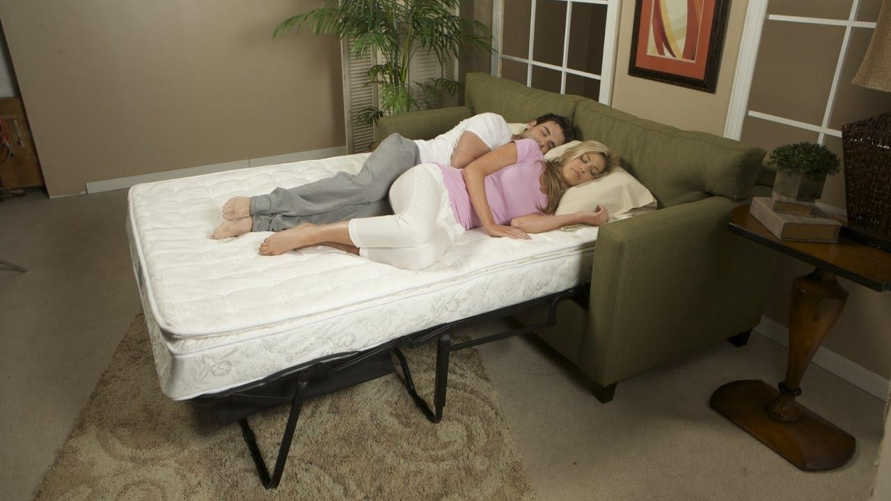 Most Comfortable Sleeper Sofa – Youtube Pertaining To Most Comfortable Sofabed (Image 14 of 22)
