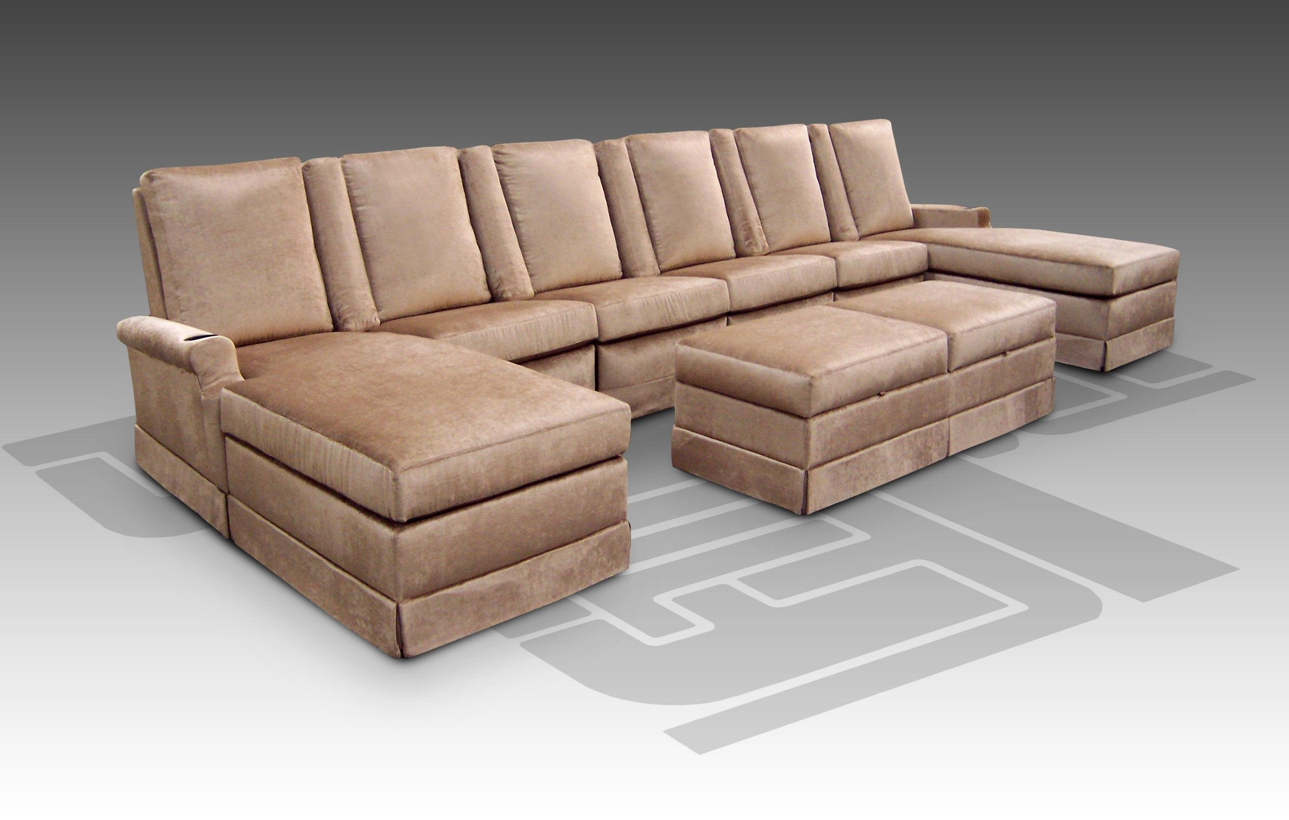 Movie Theater Sectional Sofas – Leather Sectional Sofa Regarding Theatre Sectional Sofas (Image 13 of 20)