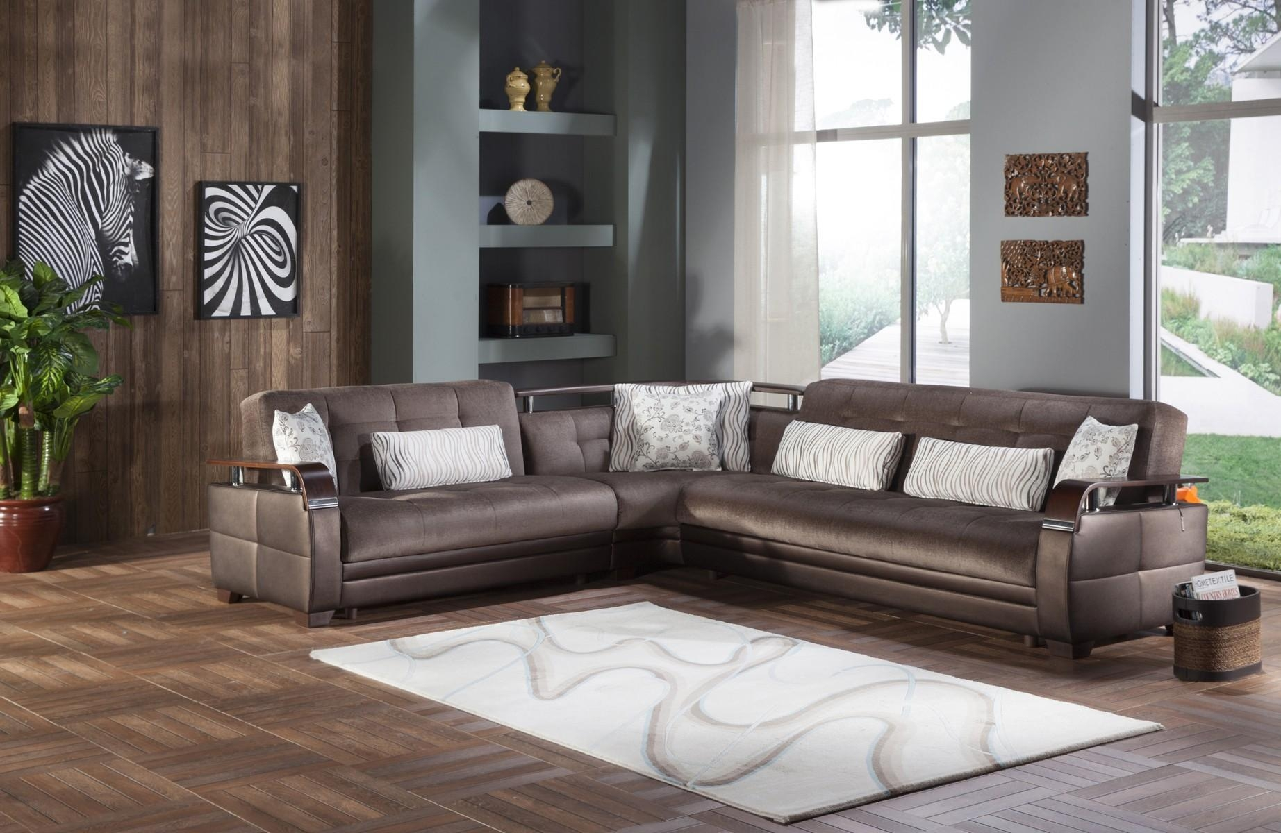 Natural Convertible Sectional Sofa In Prestige Brownistikbal Regarding Convertible Sectional (Image 9 of 15)