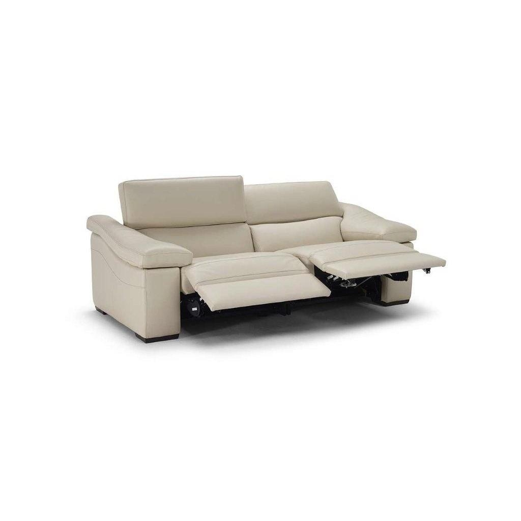 Natuzzi Editions B901 2 Seater Recliner Leather Sofa For 2 Seater Recliner Leather Sofas (Image 11 of 20)