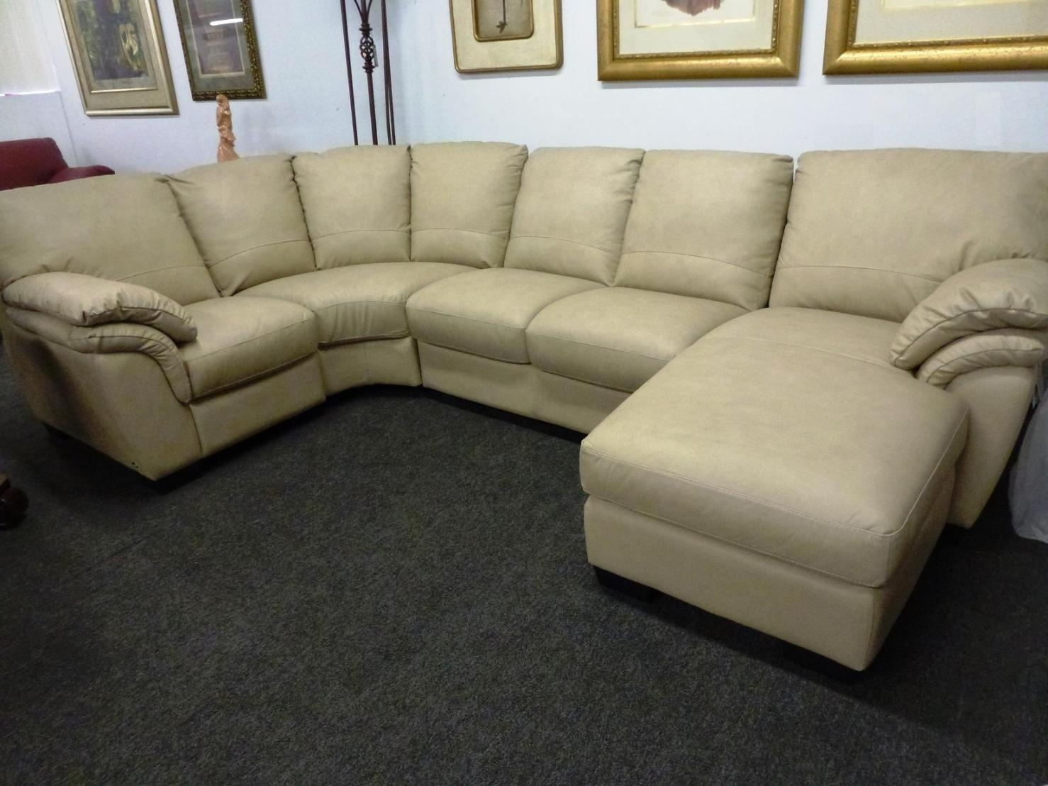 Natuzzi Leather Sofa For Sale | Tehranmix Decoration Regarding Natuzzi Microfiber Sectional Sofas (Image 10 of 20)