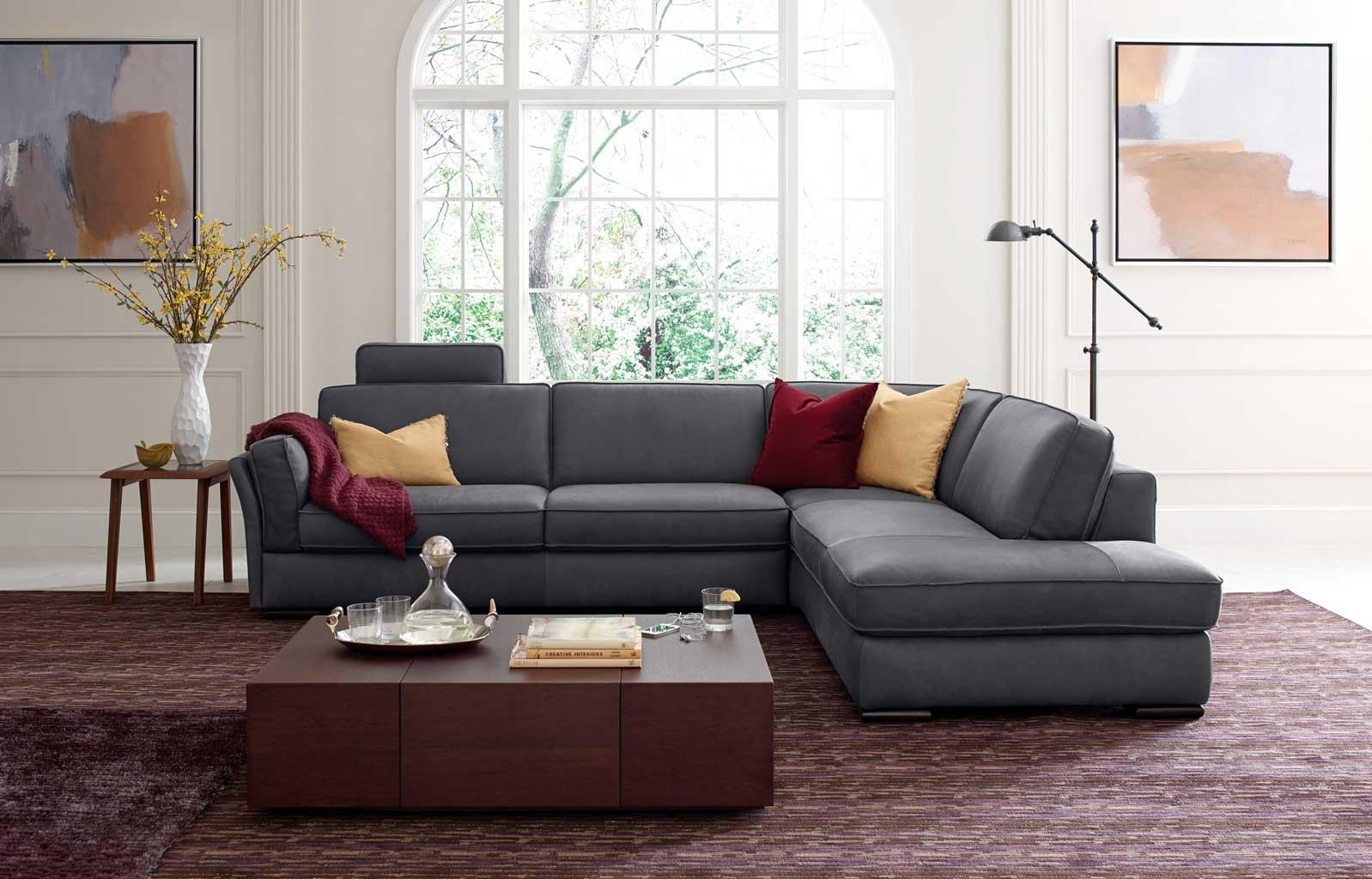 2018 Latest Natuzzi Microfiber Sectional Sofas Sofa Ideas