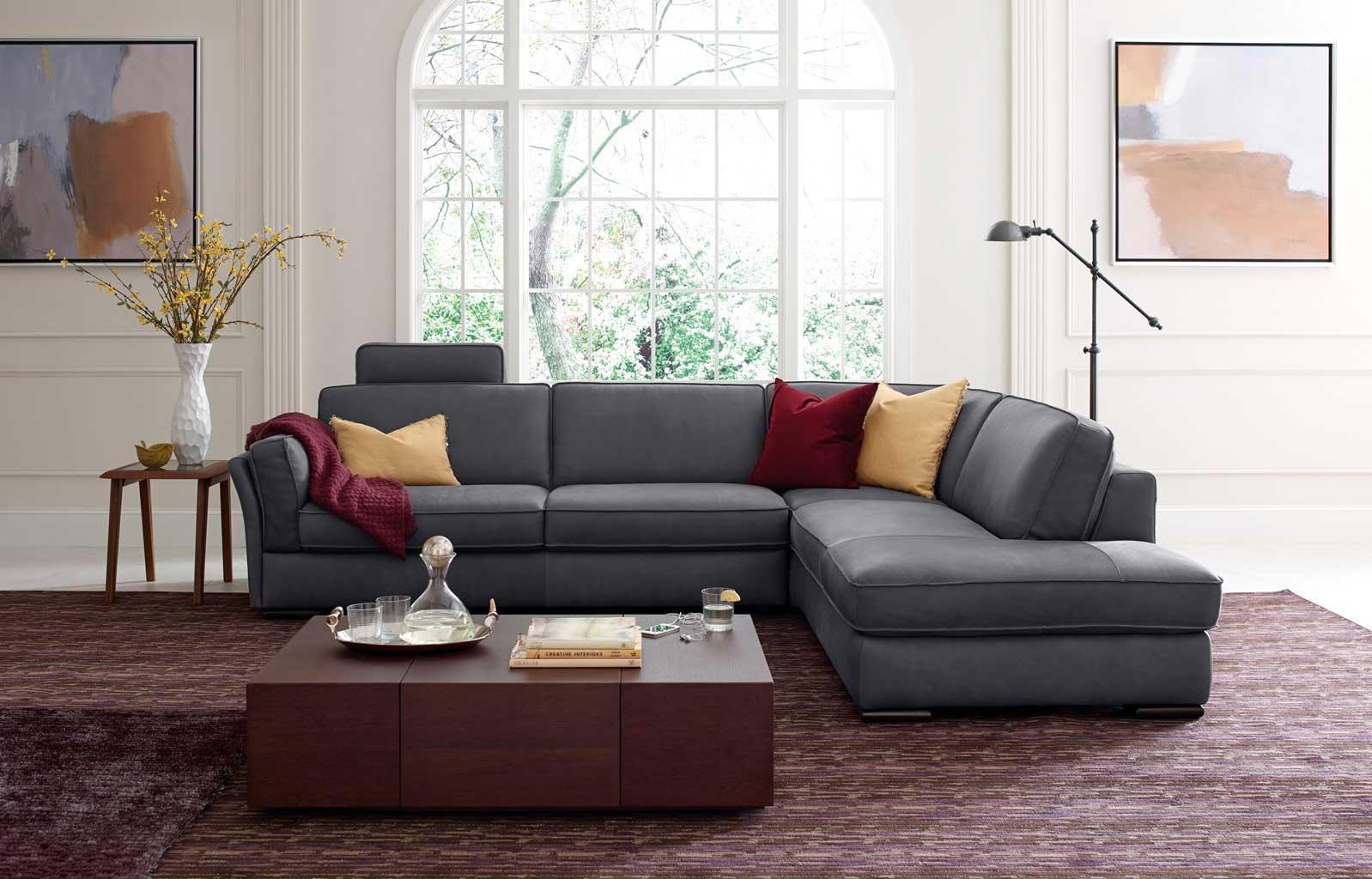 Natuzzi Sectional Sofa | Sofa Gallery | Kengire Within Natuzzi Microfiber Sectional Sofas (Image 14 of 20)