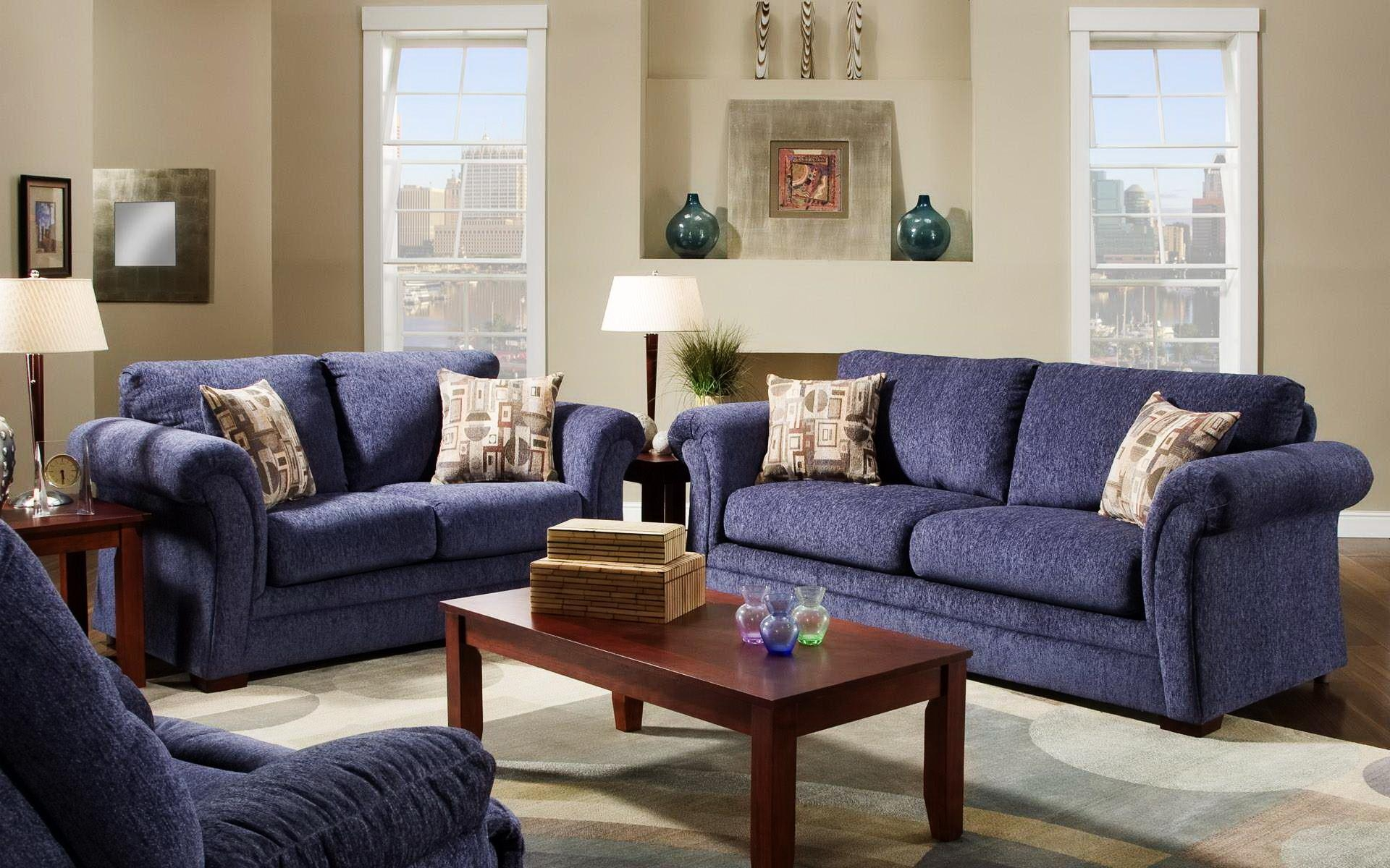 Navy Blue Sofas Decorating | Tehranmix Decoration in Blue Sofas
