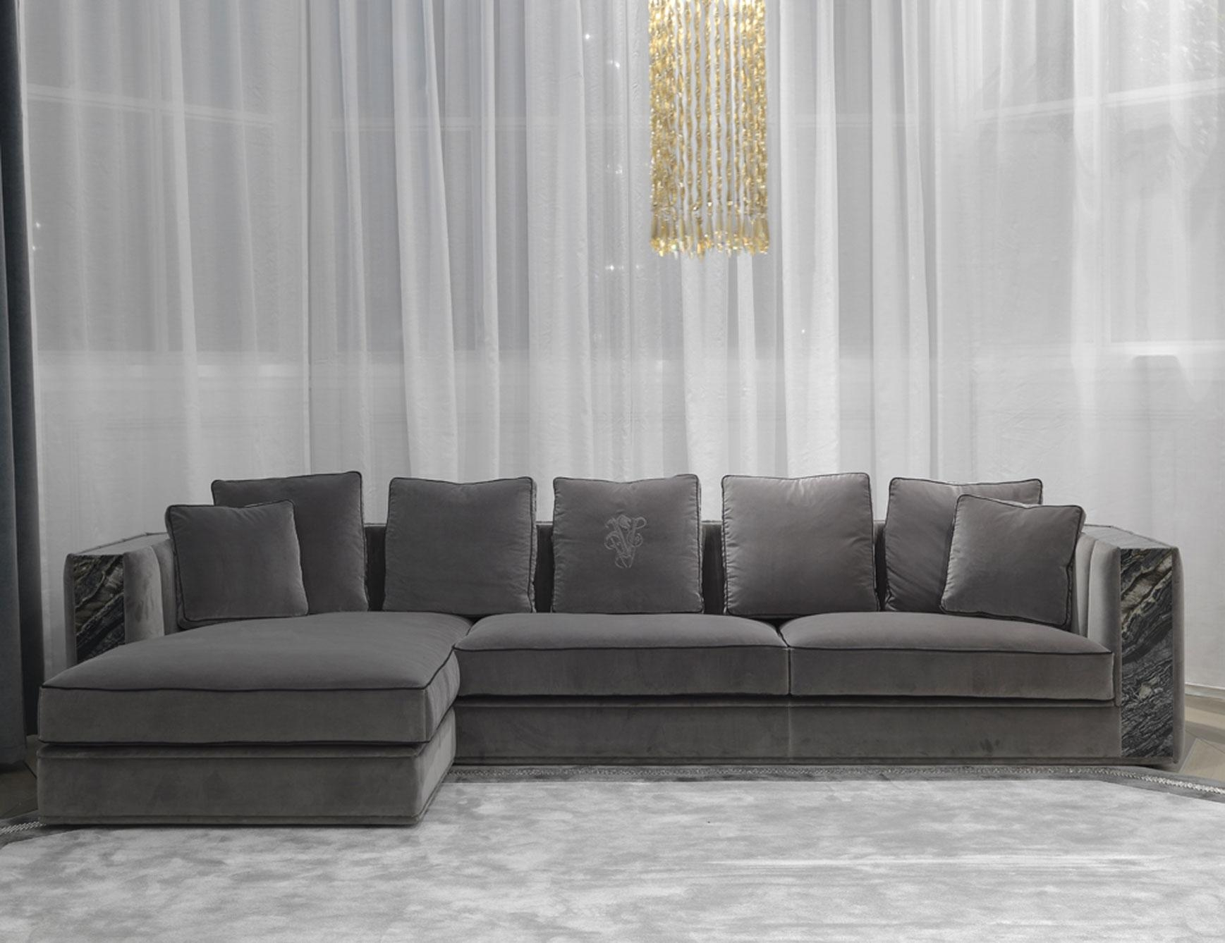 Nella Vetrina Visionnaire Ipe Cavalli Davis Grey Sofa In Regarding Davis Sofas (View 4 of 20)
