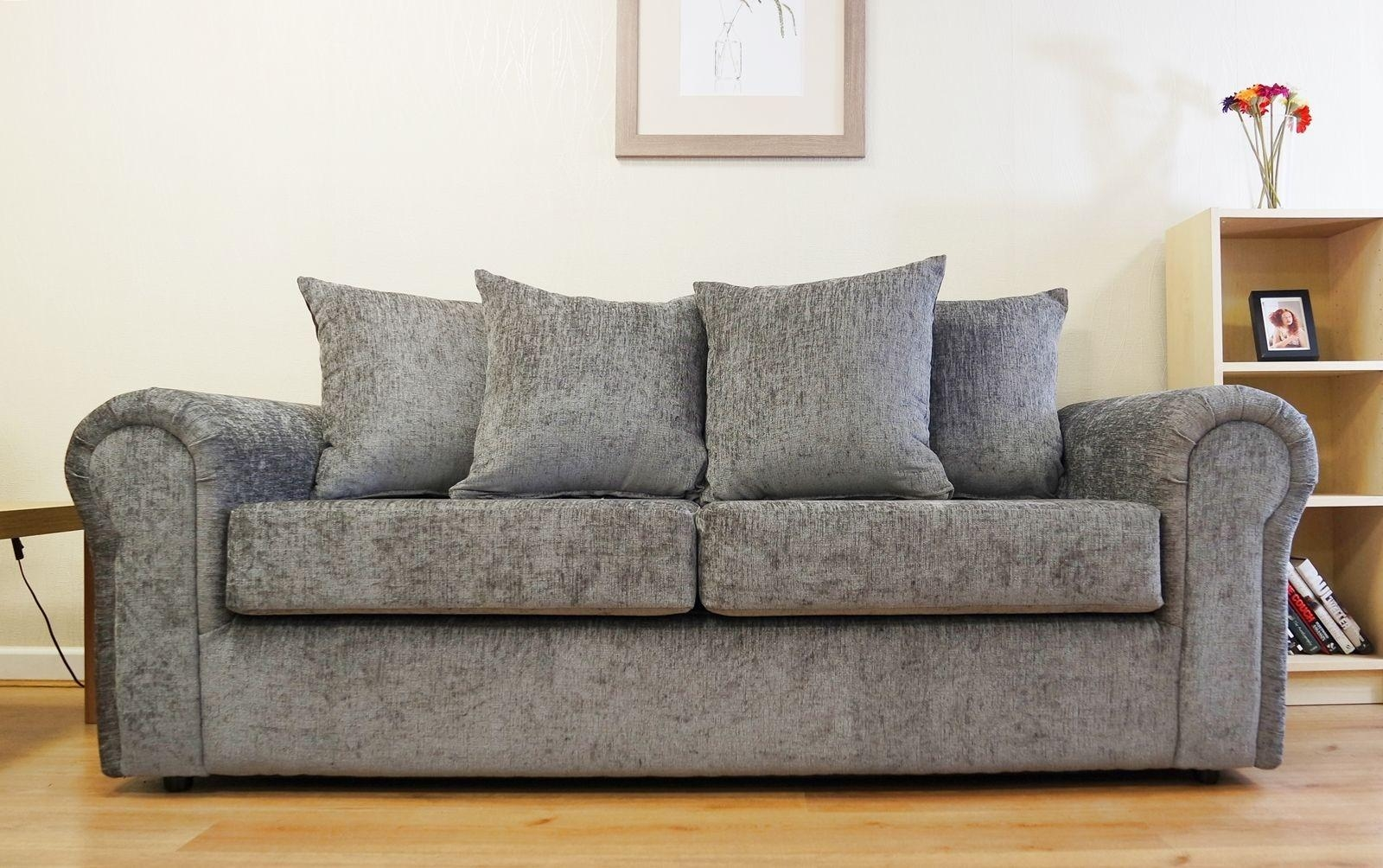New Chenille Fabric Sofa 98 With Additional Sofas And Couches Regarding Fabric Sofas (View 9 of 20)