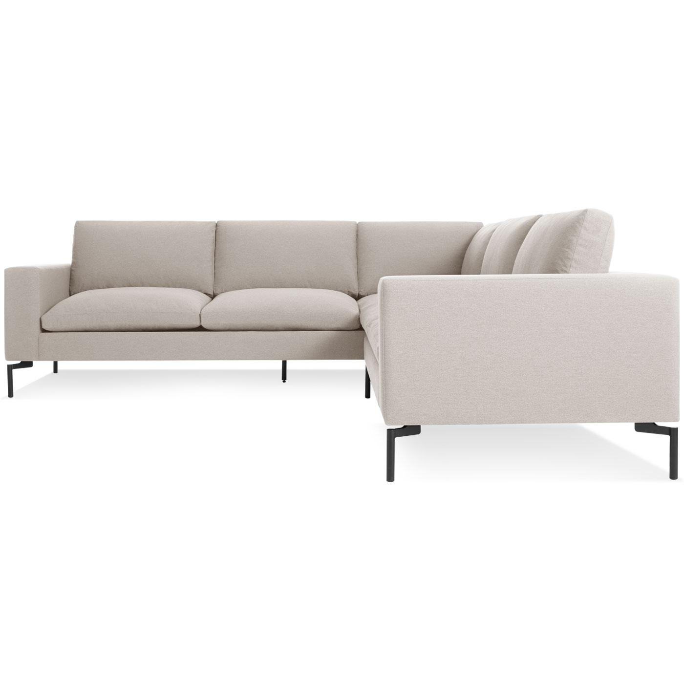New Standard Small Sectional Sofa - Modern Sofas | Blu Dot pertaining to Small Modern Sofas
