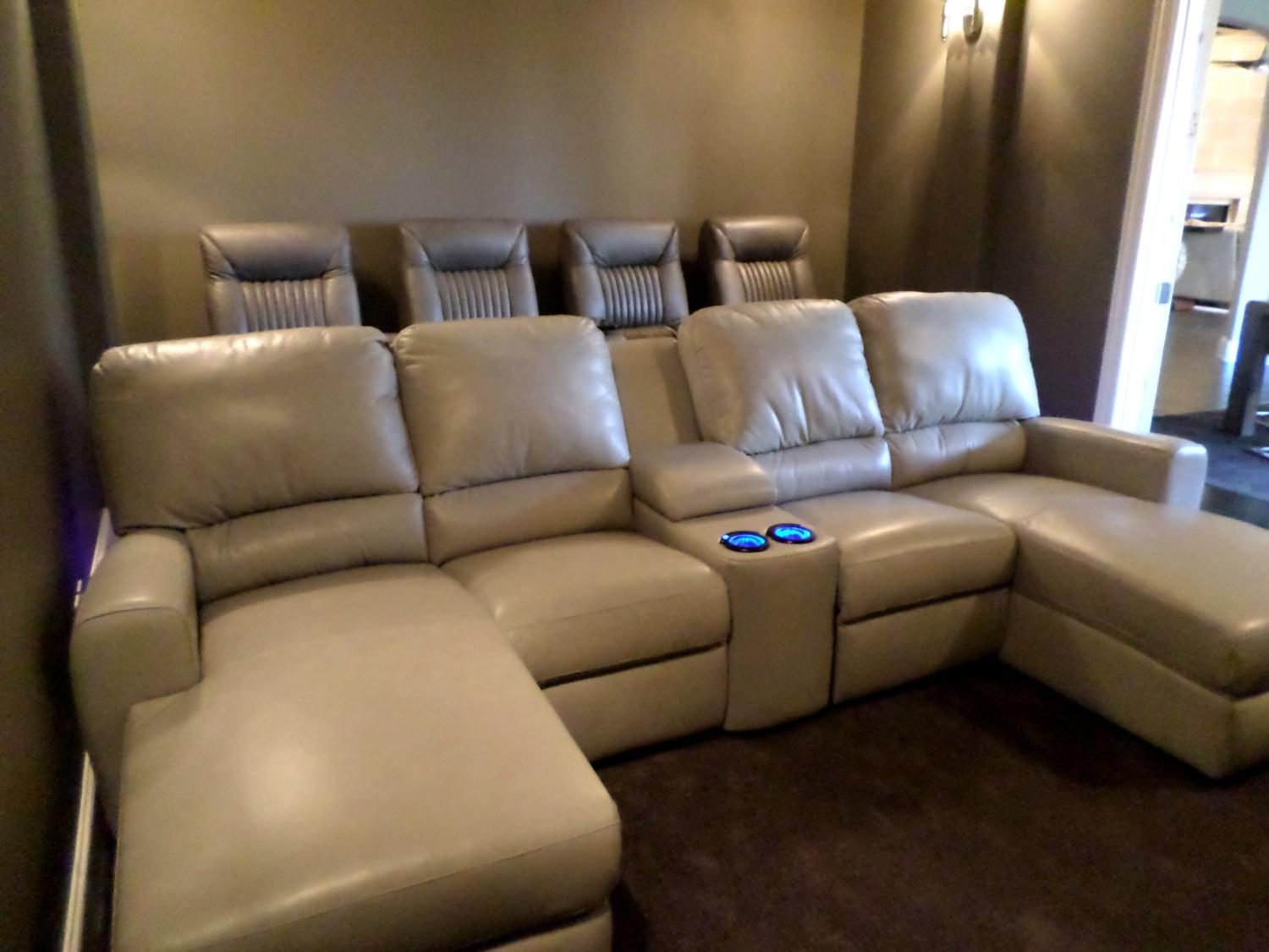 New Theater Room Recliners Home Style Tips Modern In Theater Room with regard to Theater Room Sofas