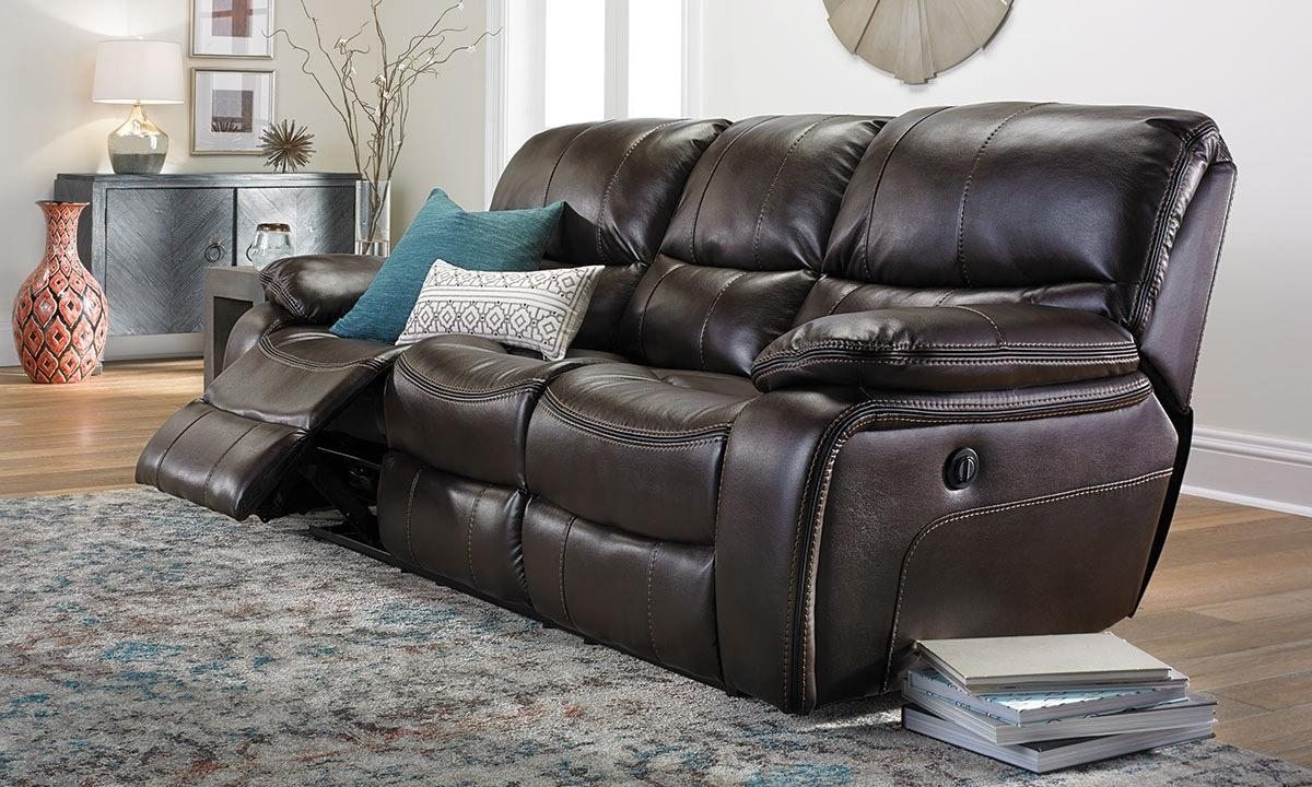Newport Power Reclining Sofa | Haynes Furniture, Virginia's Pertaining To Newport Sofas (Image 10 of 20)