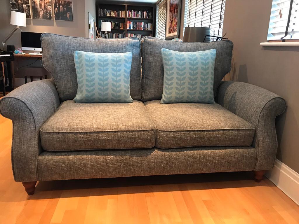 Next Ashford Sofa X2, Dark Grey Boucle Weave | In Kingston, London With Ashford Sofas (View 13 of 20)
