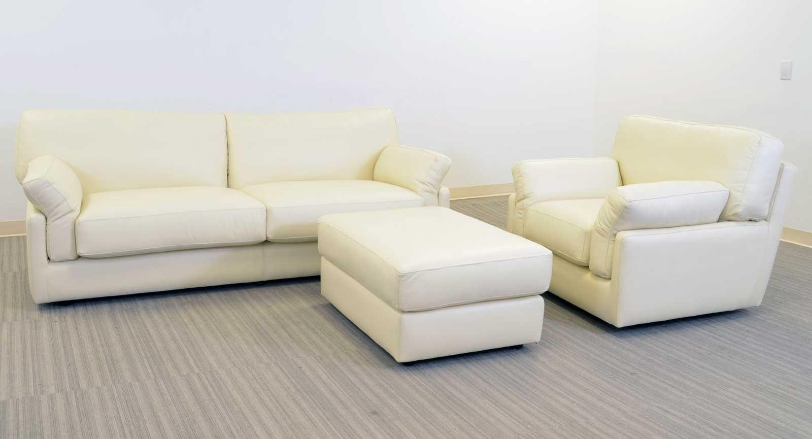 Oasis Sofa ‹‹ The Leather Sofa Company Throughout Sofa Chair And Ottoman (Image 13 of 20)