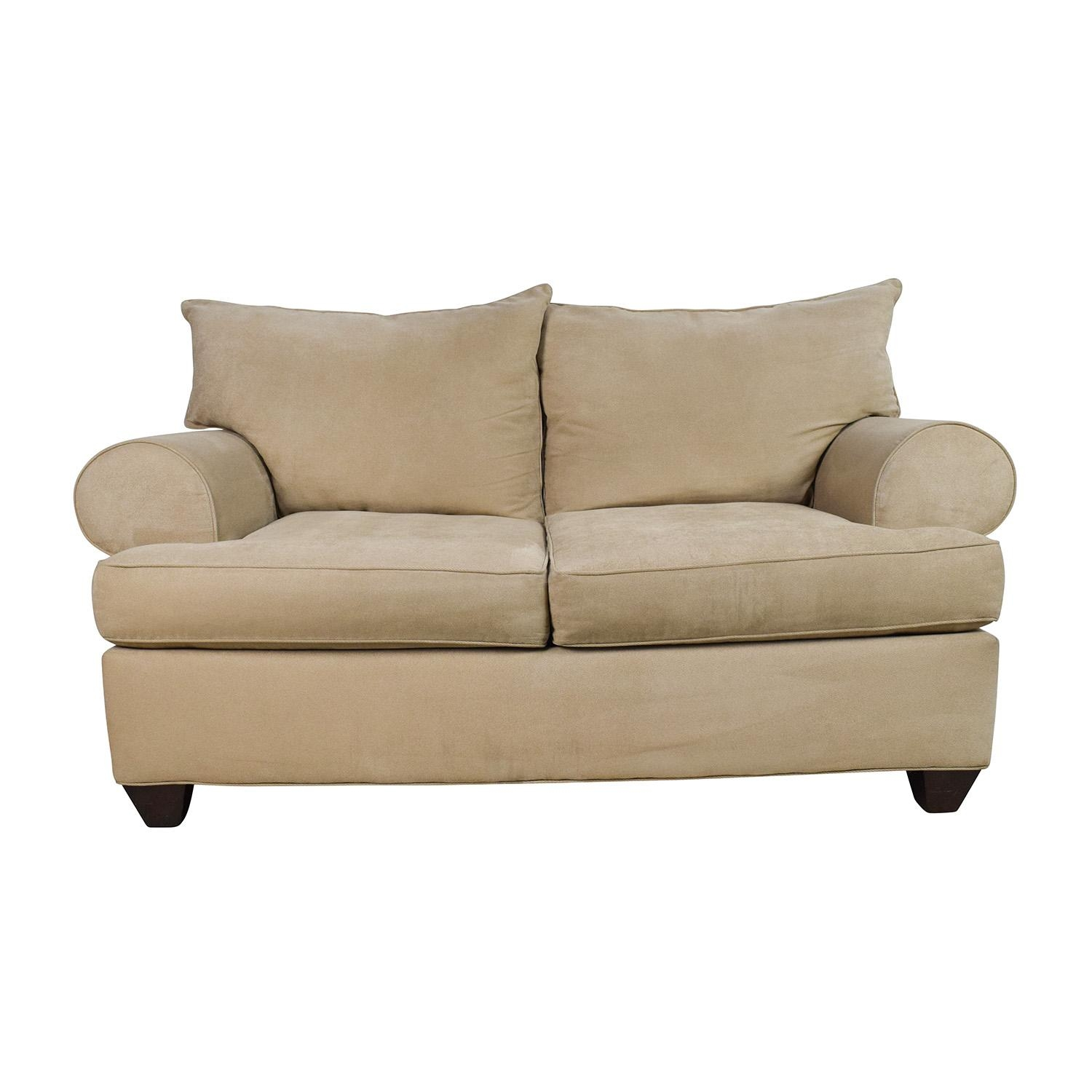 Off White Loveseat (Image 17 of 20)