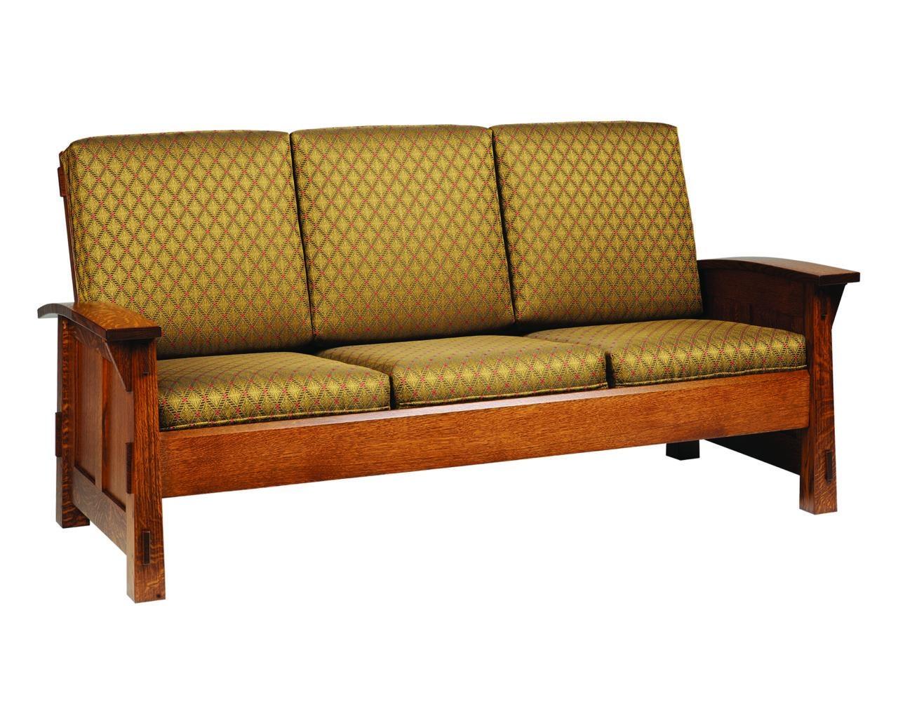 Olde Shaker Sofa – Gish's Amish Legacies Regarding Shaker Sofas (Image 8 of 20)