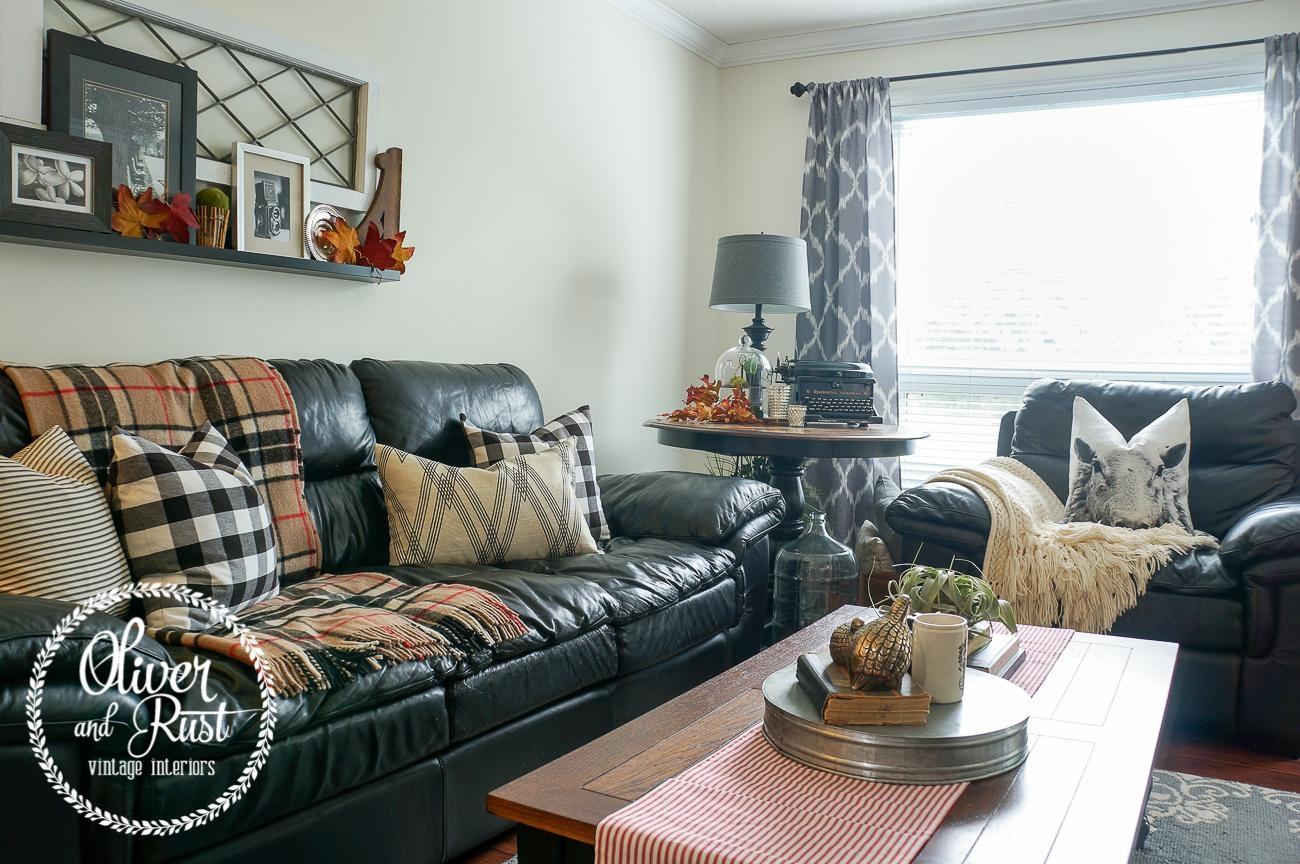 Oliver And Rust: Couch Series: Vintage Traditional On The Black Regarding Buffalo Check Sofas (View 7 of 20)