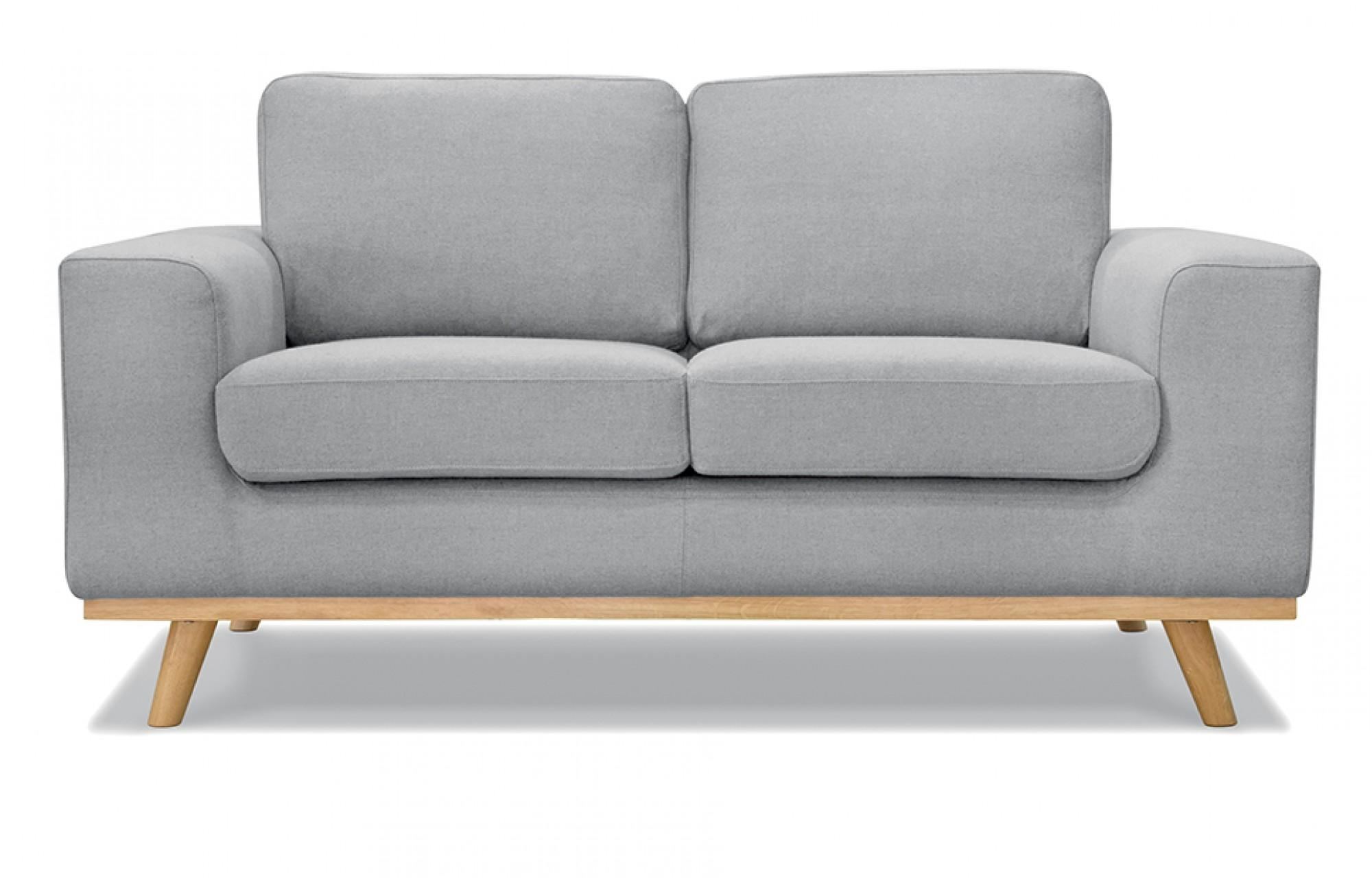 Olivia 2 Seater Sofa In Grey Out And Out Original Inside Two Seater Sofas (Image 13 of 20)