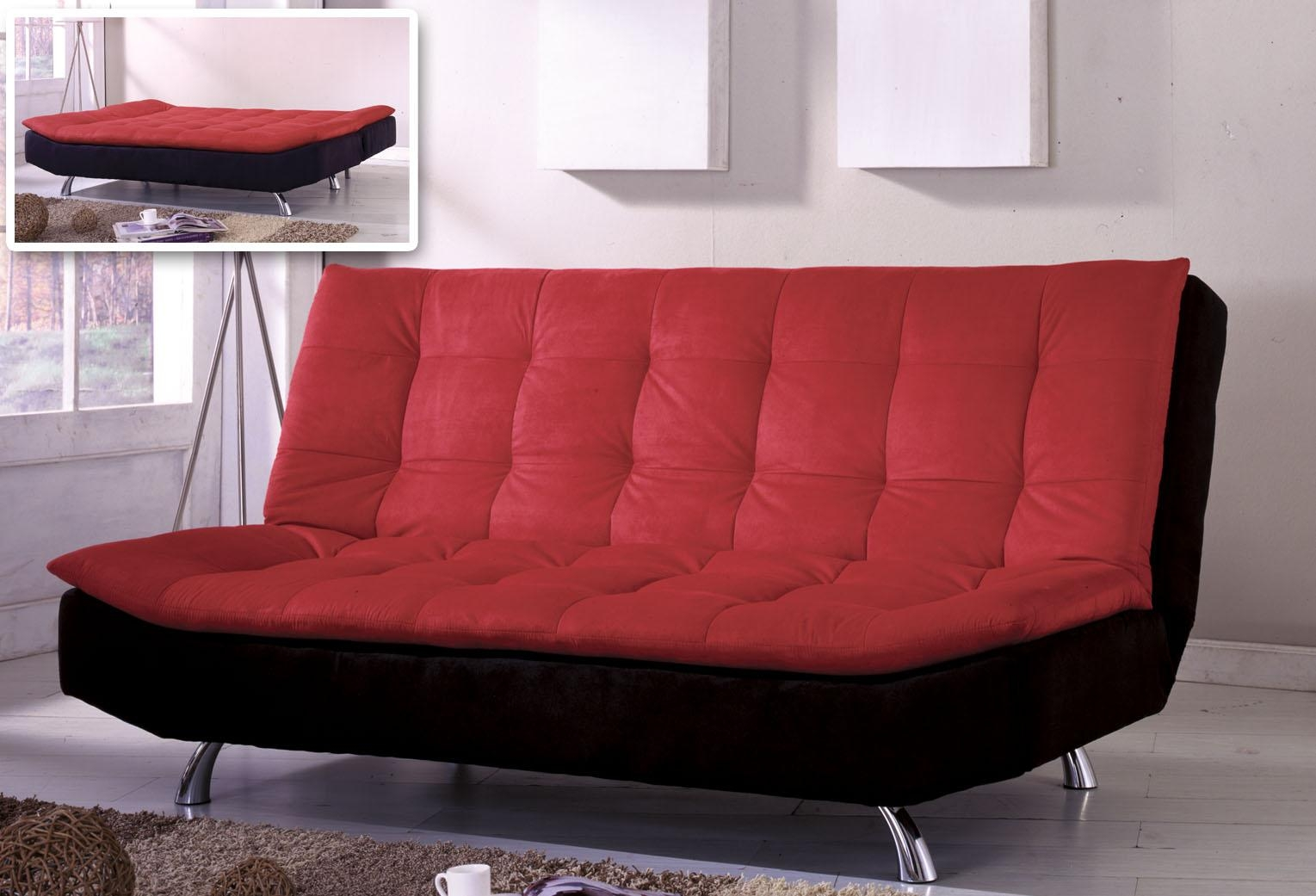 Omni Futon Sofa Bed – S3Net – Sectional Sofas Sale : S3Net Intended For Small Black Futon Sofa Beds (Image 14 of 20)