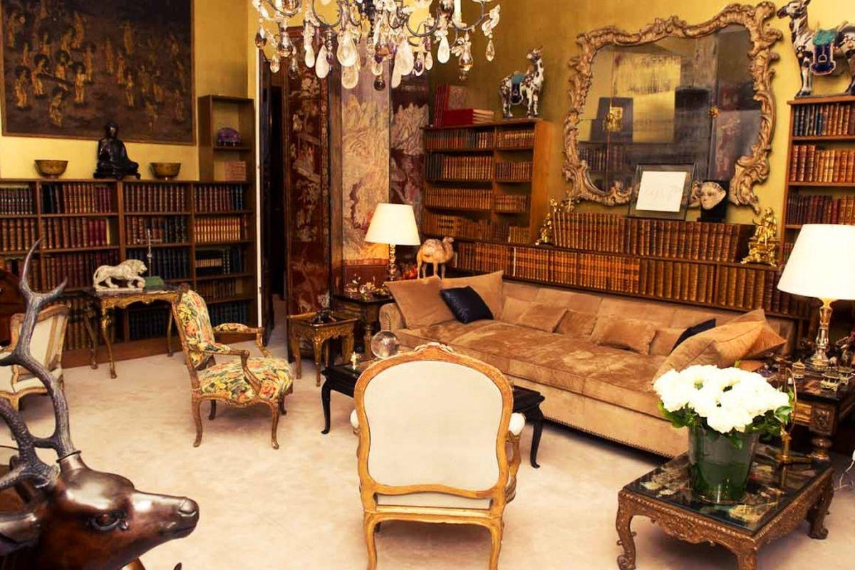 On Coco Chanel's Birthday, 10 Titillating Apartment Details – Curbed Intended For Coco Chanel Sofas (Image 19 of 20)